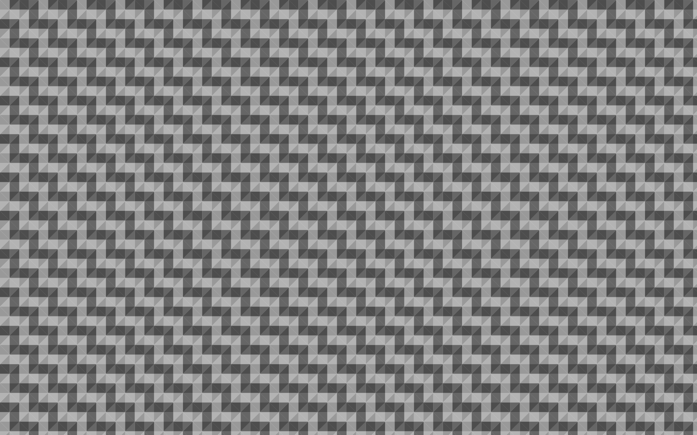 Seamless Grayscale Pyramids Pattern 4 by GDJ