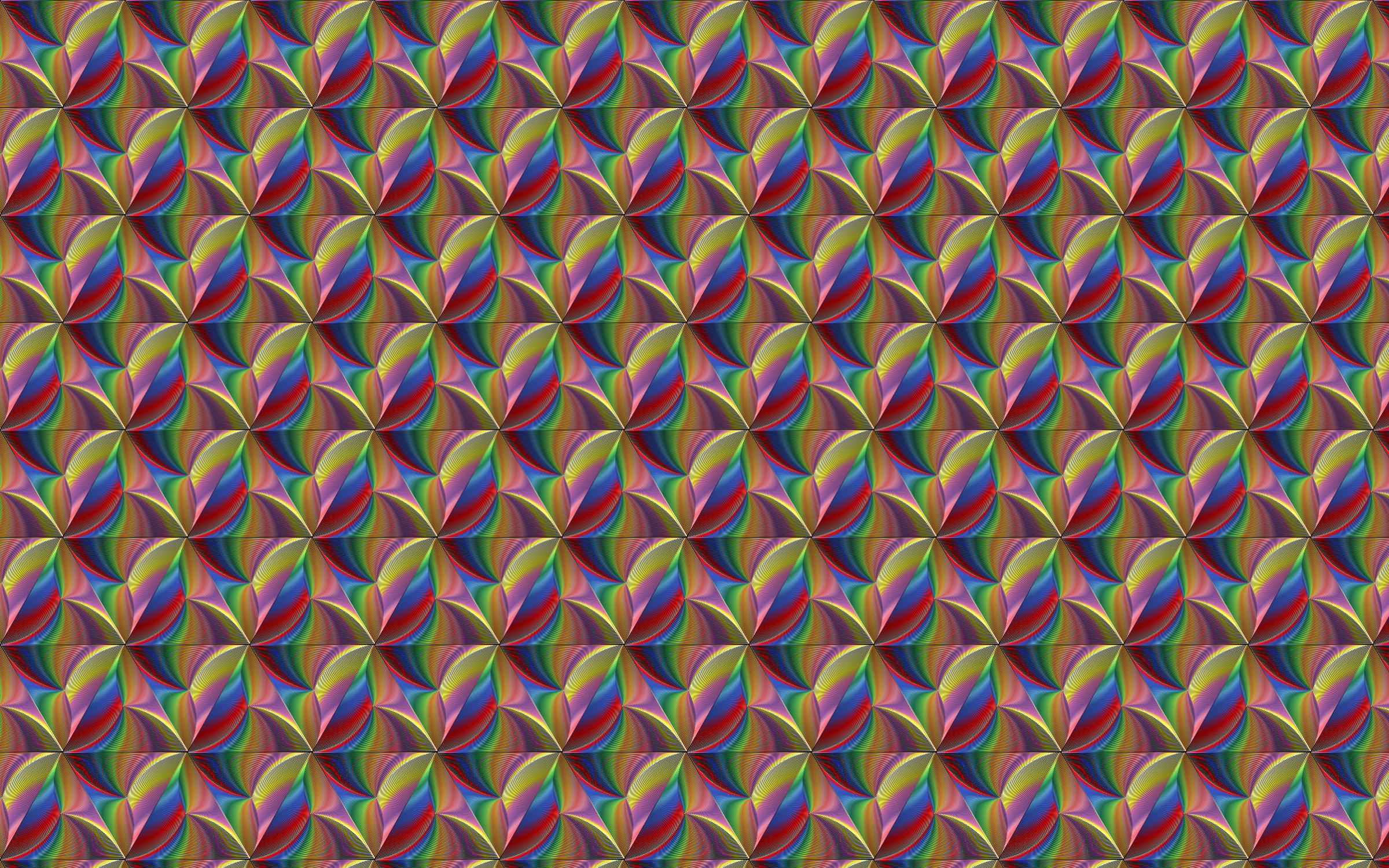 Seamless Prismatic Line Art Pattern 2 by GDJ