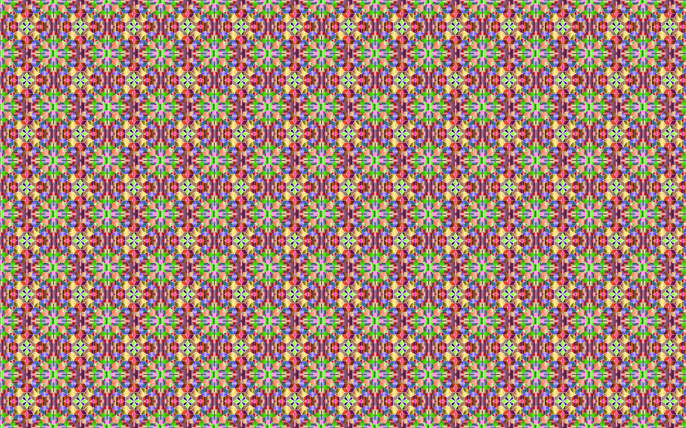 Seamless Cubic Chromaticity Pattern by GDJ