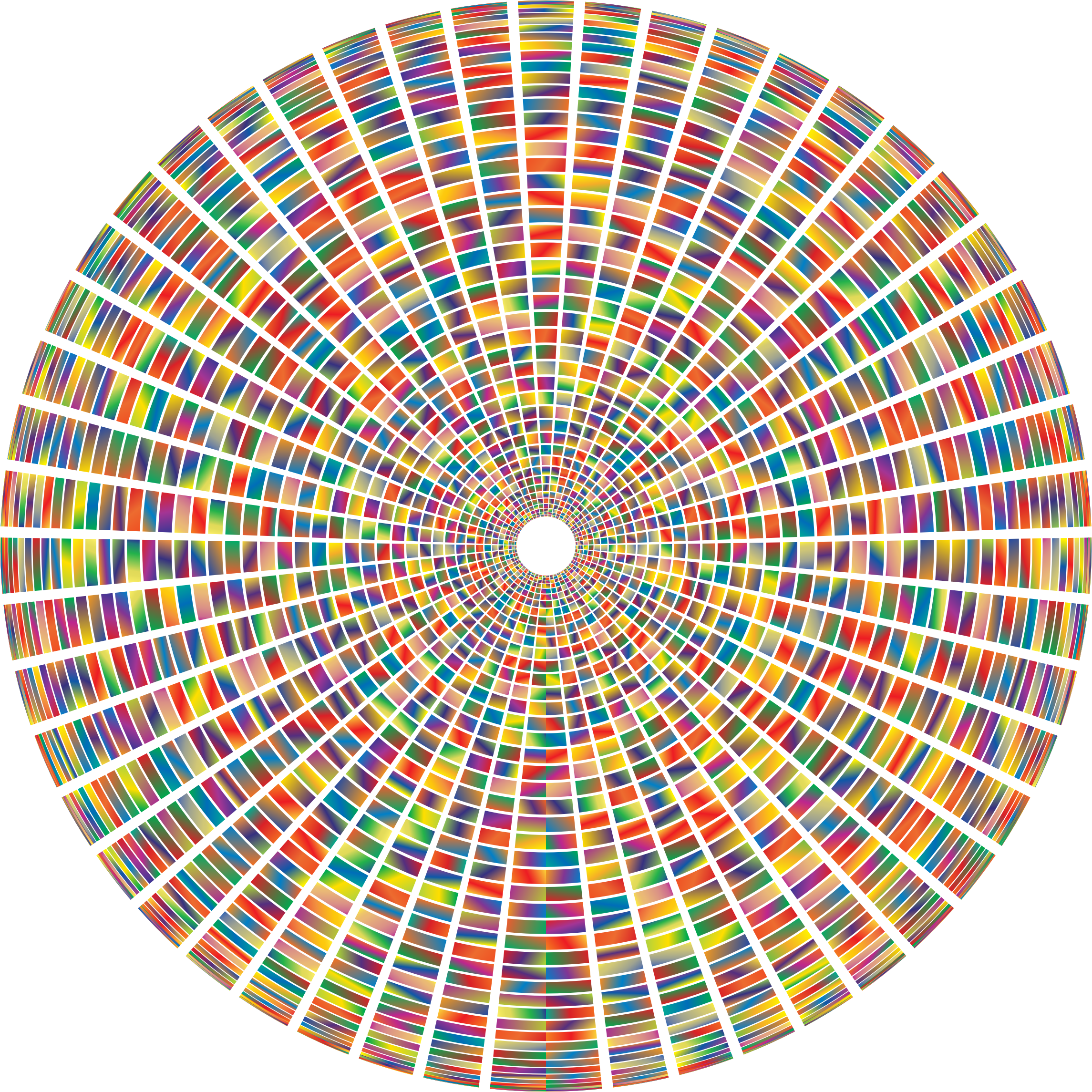 Prismatic Segmented Circle 2 by GDJ
