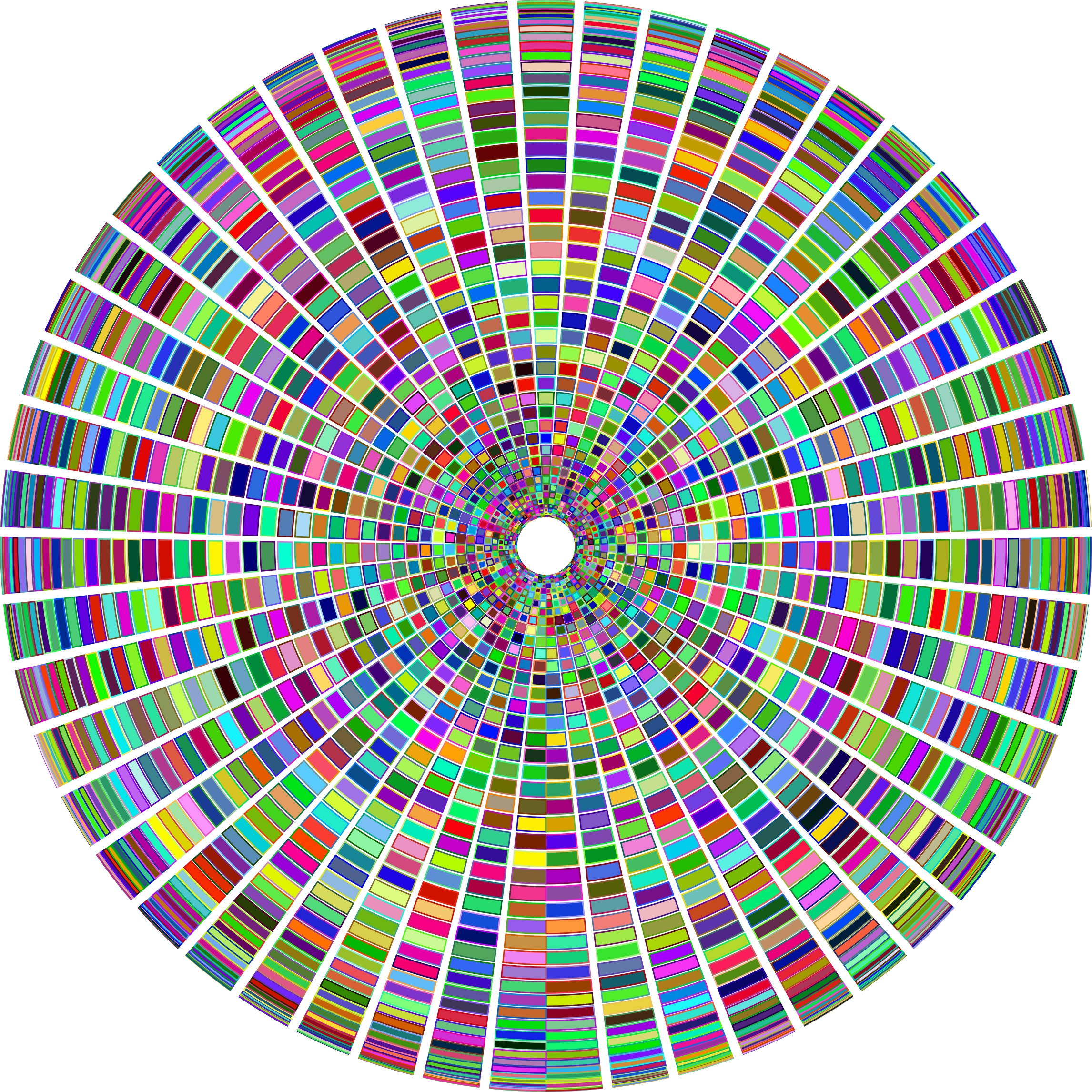 Prismatic Segmented Circle 3 by GDJ