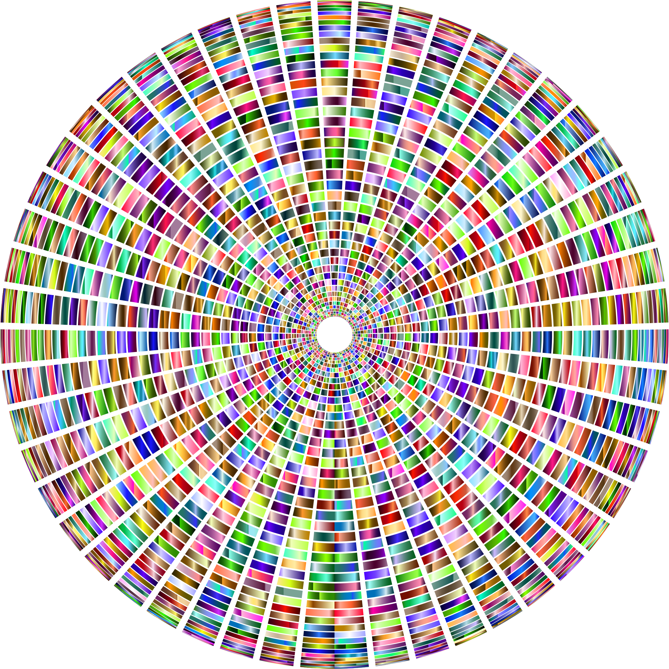 Prismatic Segmented Circle 4 by GDJ