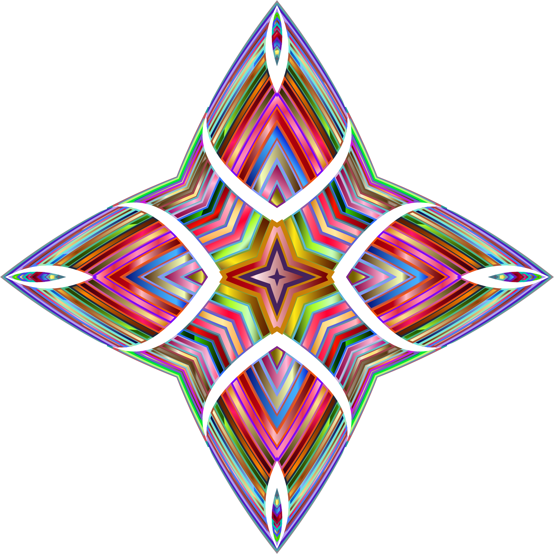 Chromatic Decorative Ornament by GDJ