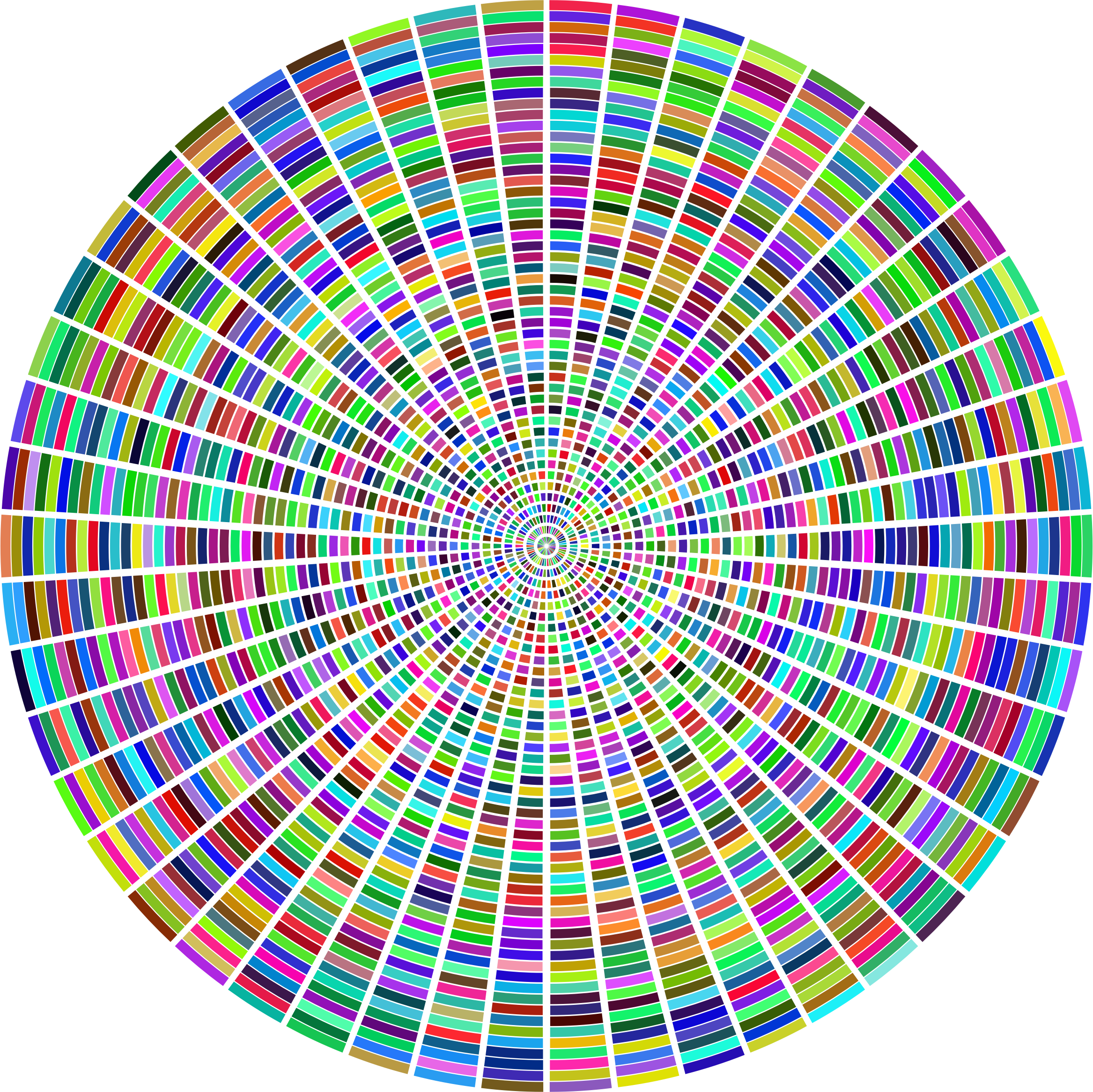 Colorful Concentric Rectangles by GDJ