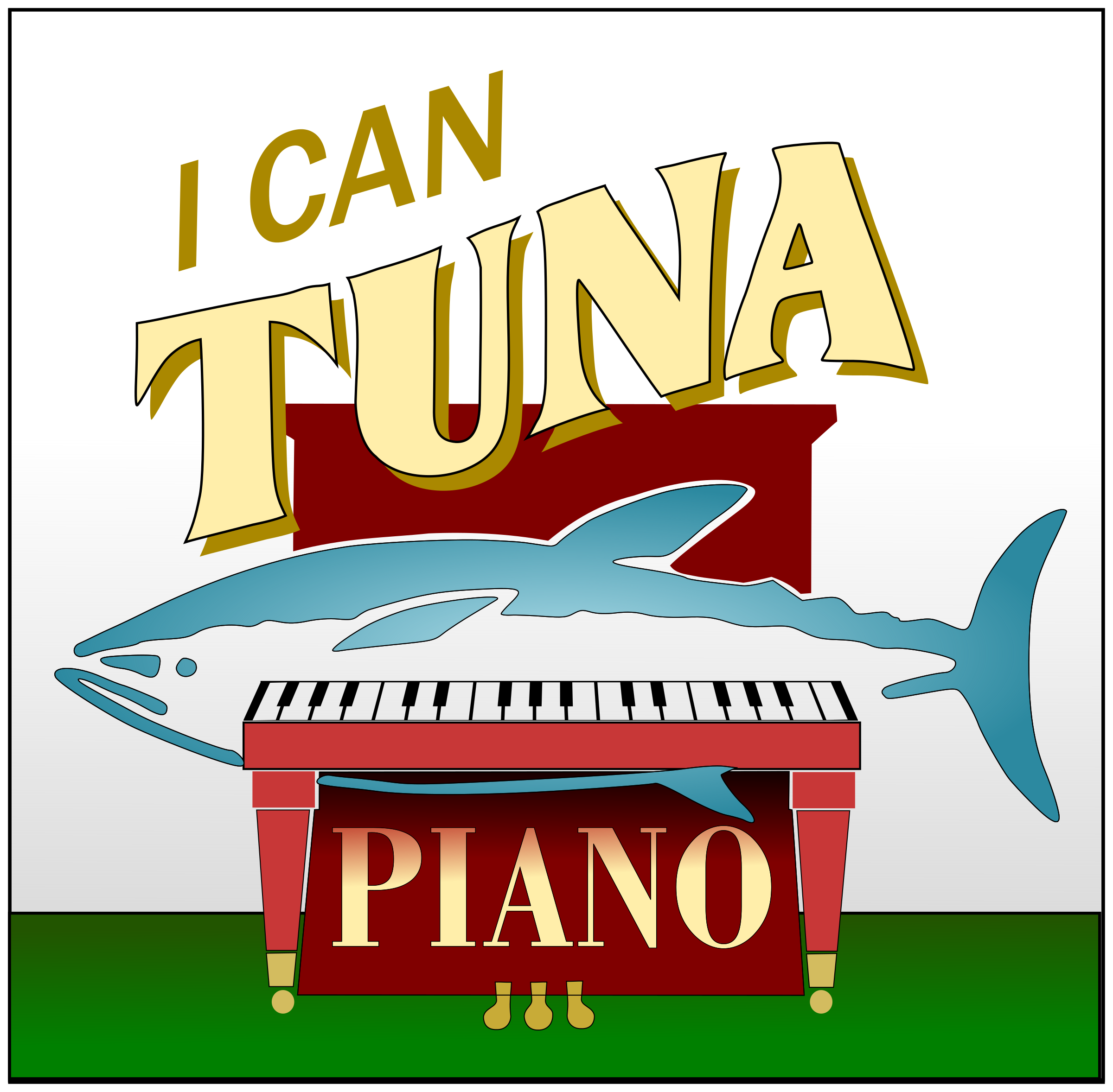 Tuna Piano by Raker Tooth