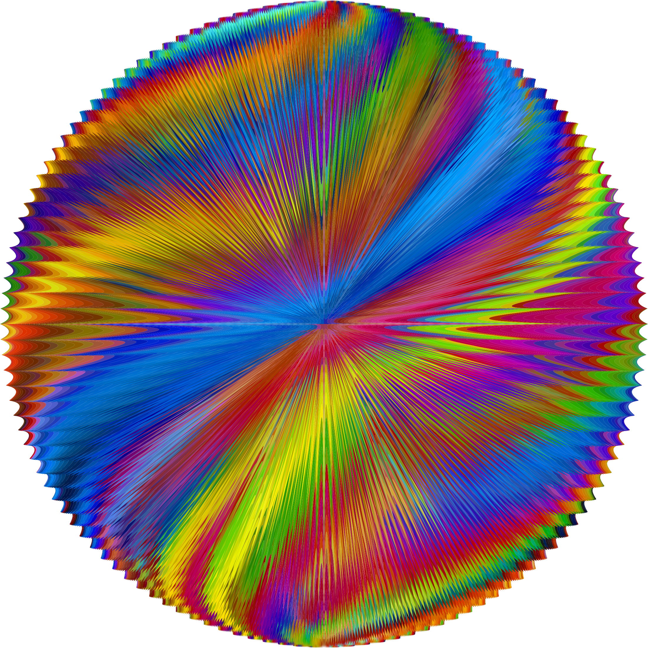 Prismatic Psychedelic Orb by GDJ