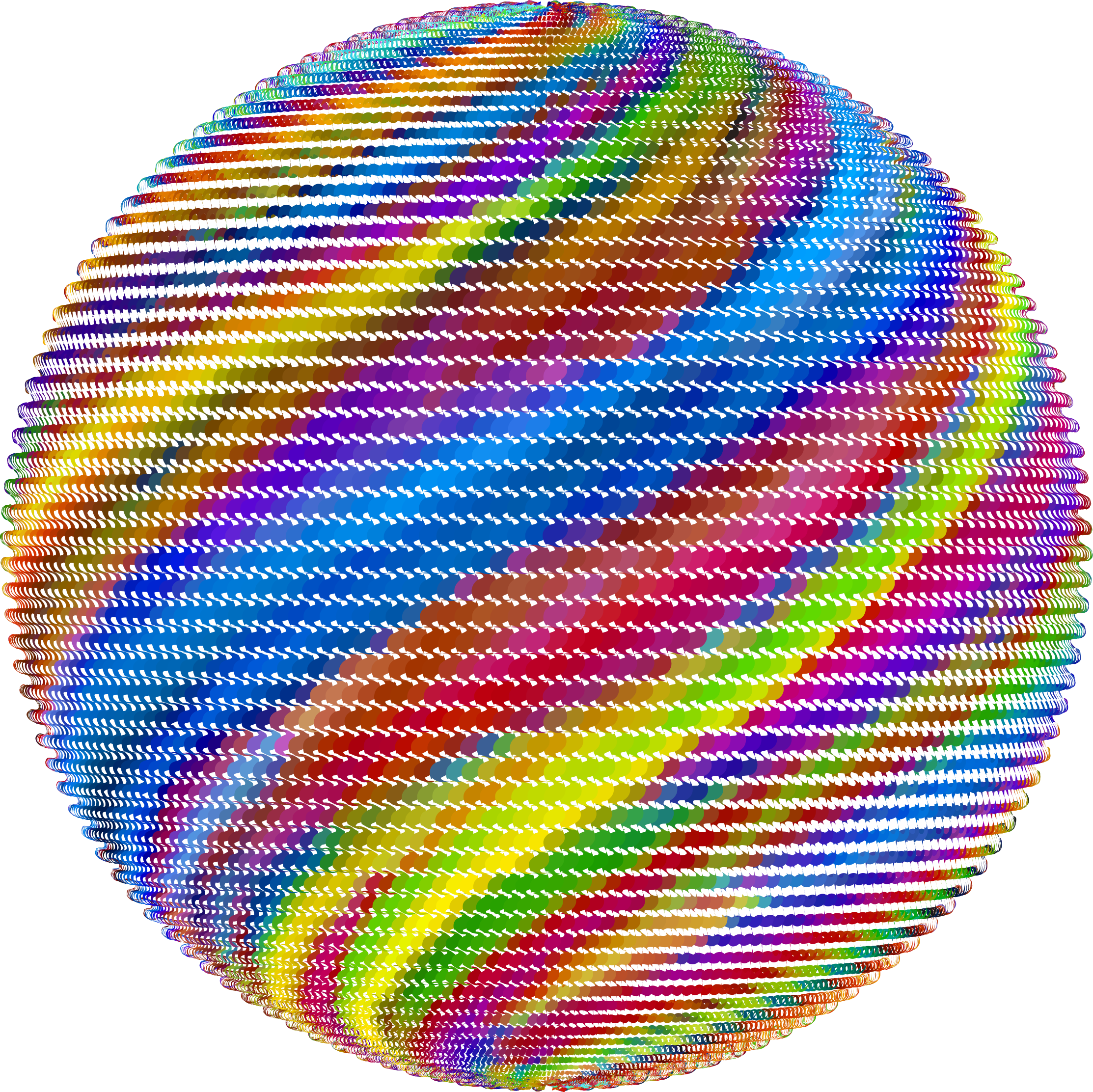 Prismatic Rippling Orb by GDJ