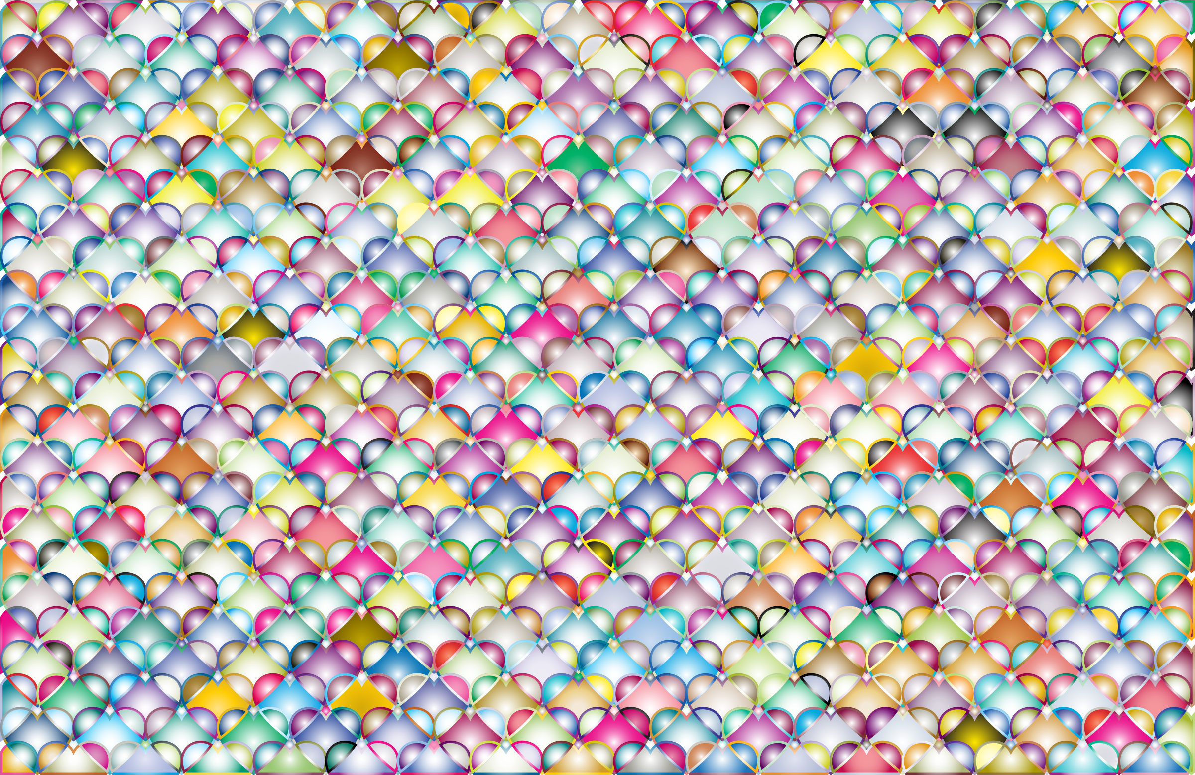 Hearts Pattern Background 4 by GDJ
