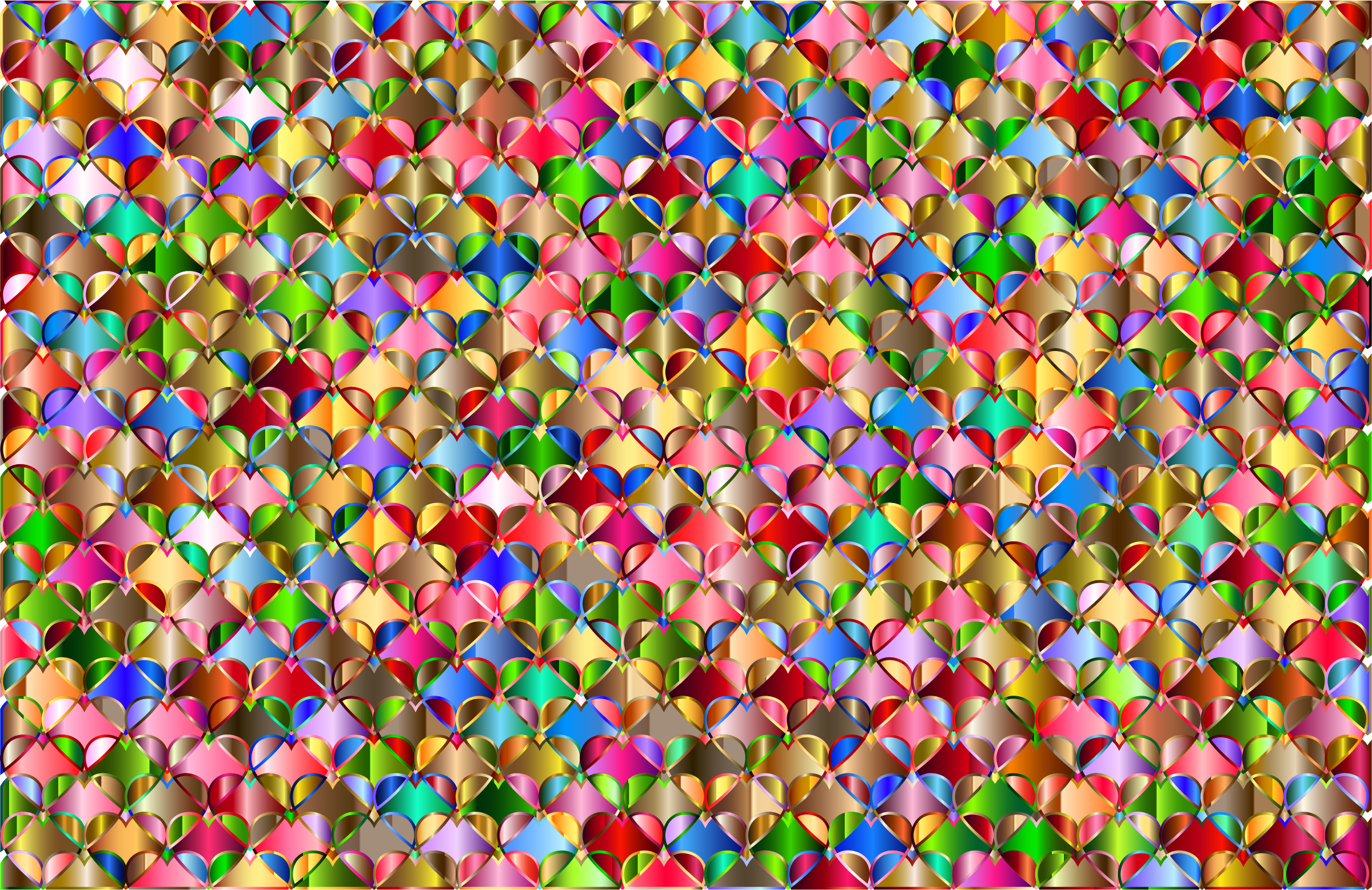 Hearts Pattern Background 8 by GDJ