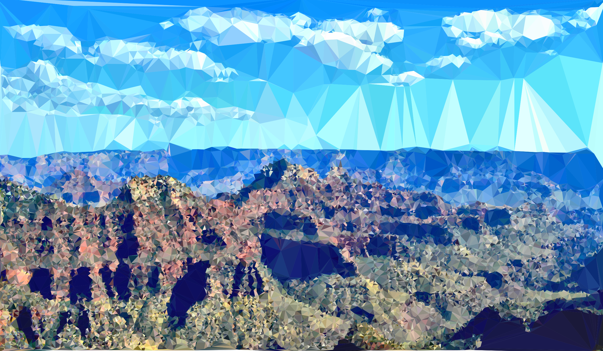 High Poly Grand Canyon by GDJ