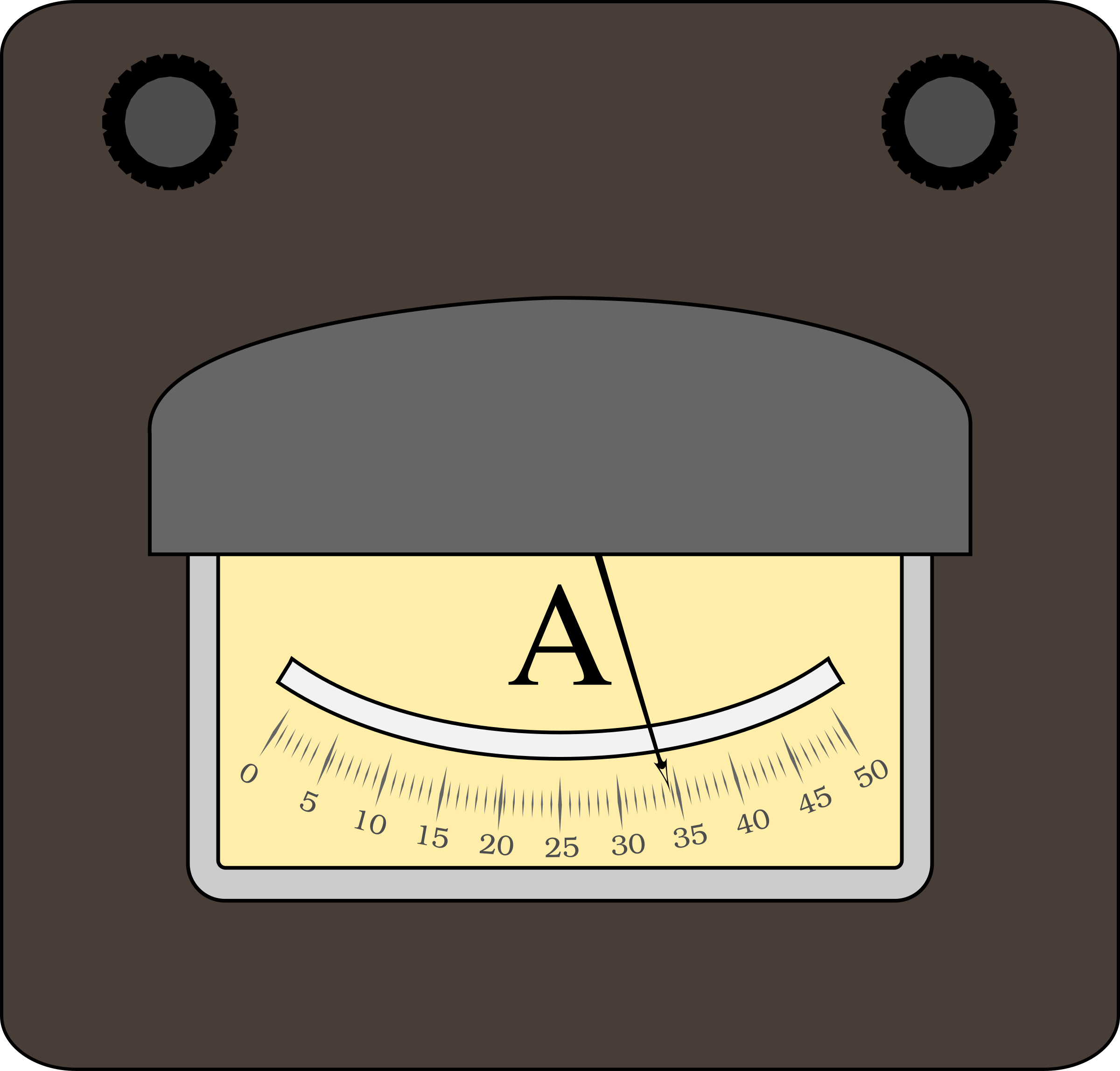 Ampermeter by boobaloo