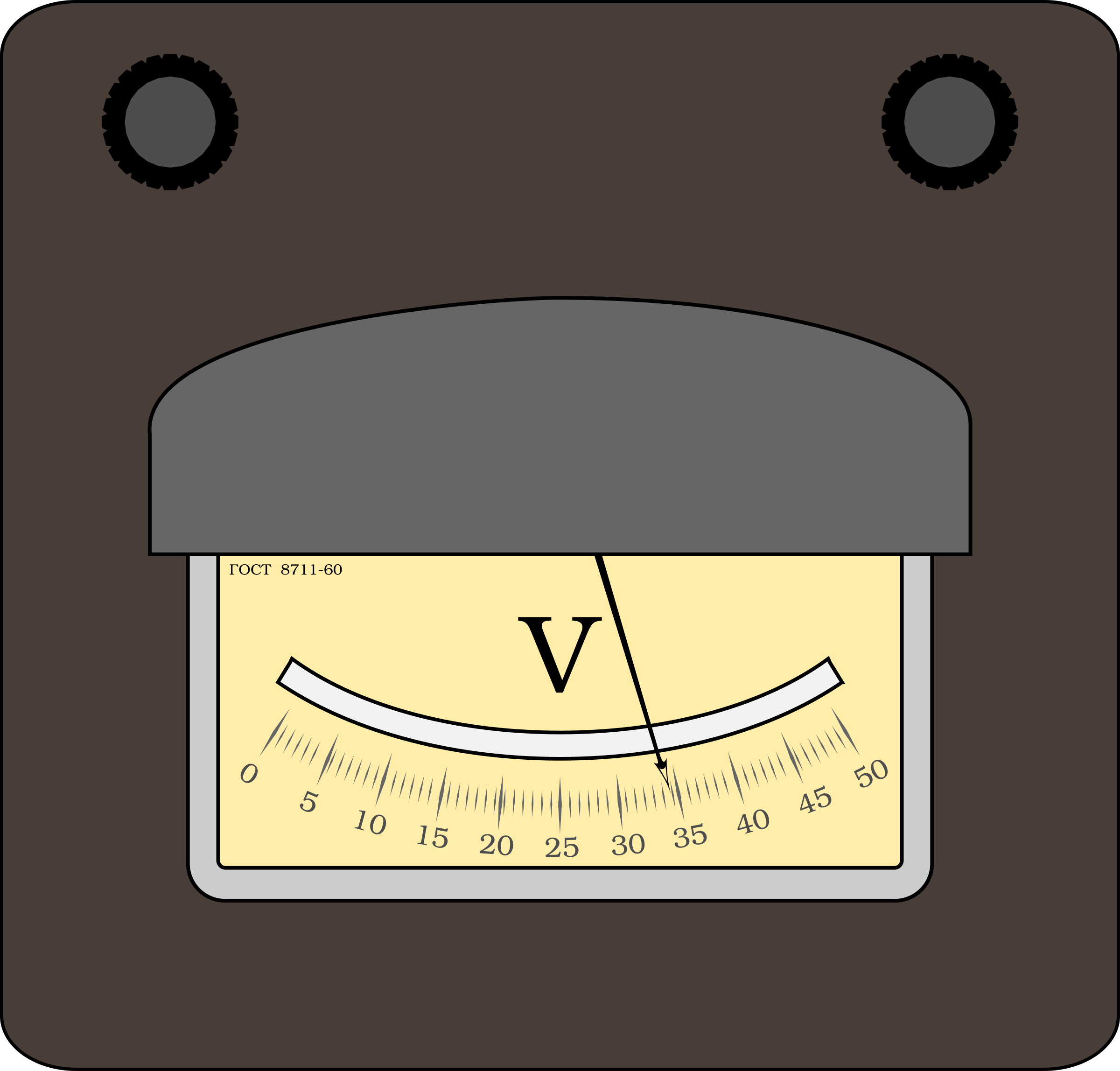 Voltmeter by boobaloo