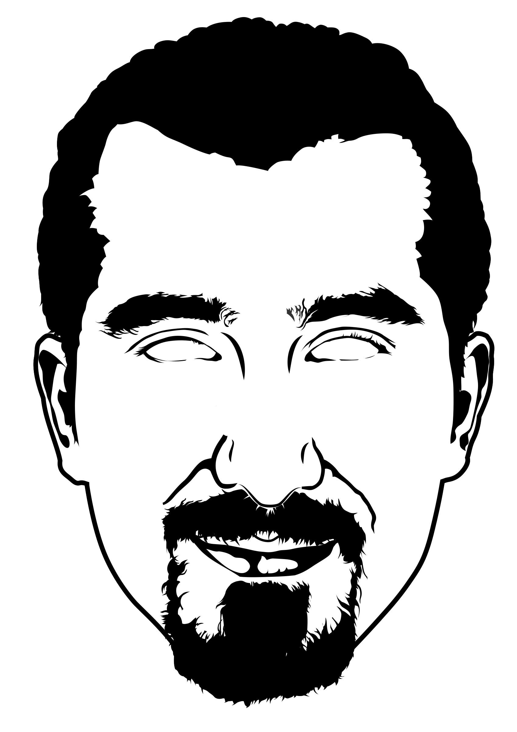 Bassel Facemask Cutout by rejon