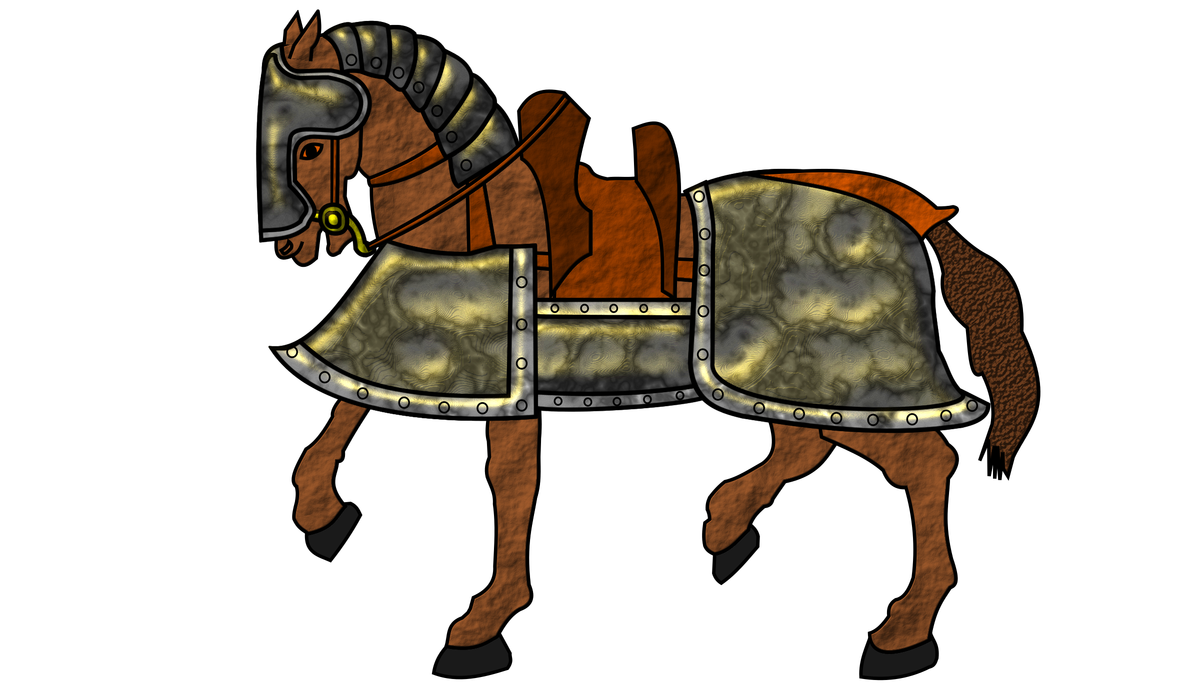 Armored Horse by Flying Dutchman