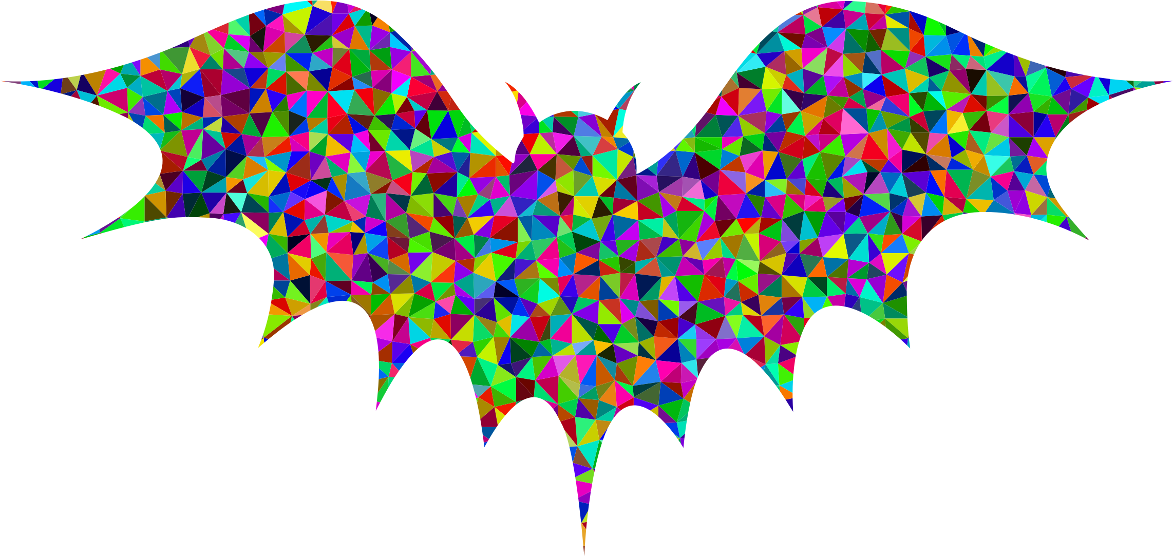 Low Poly Prismatic Bat by GDJ