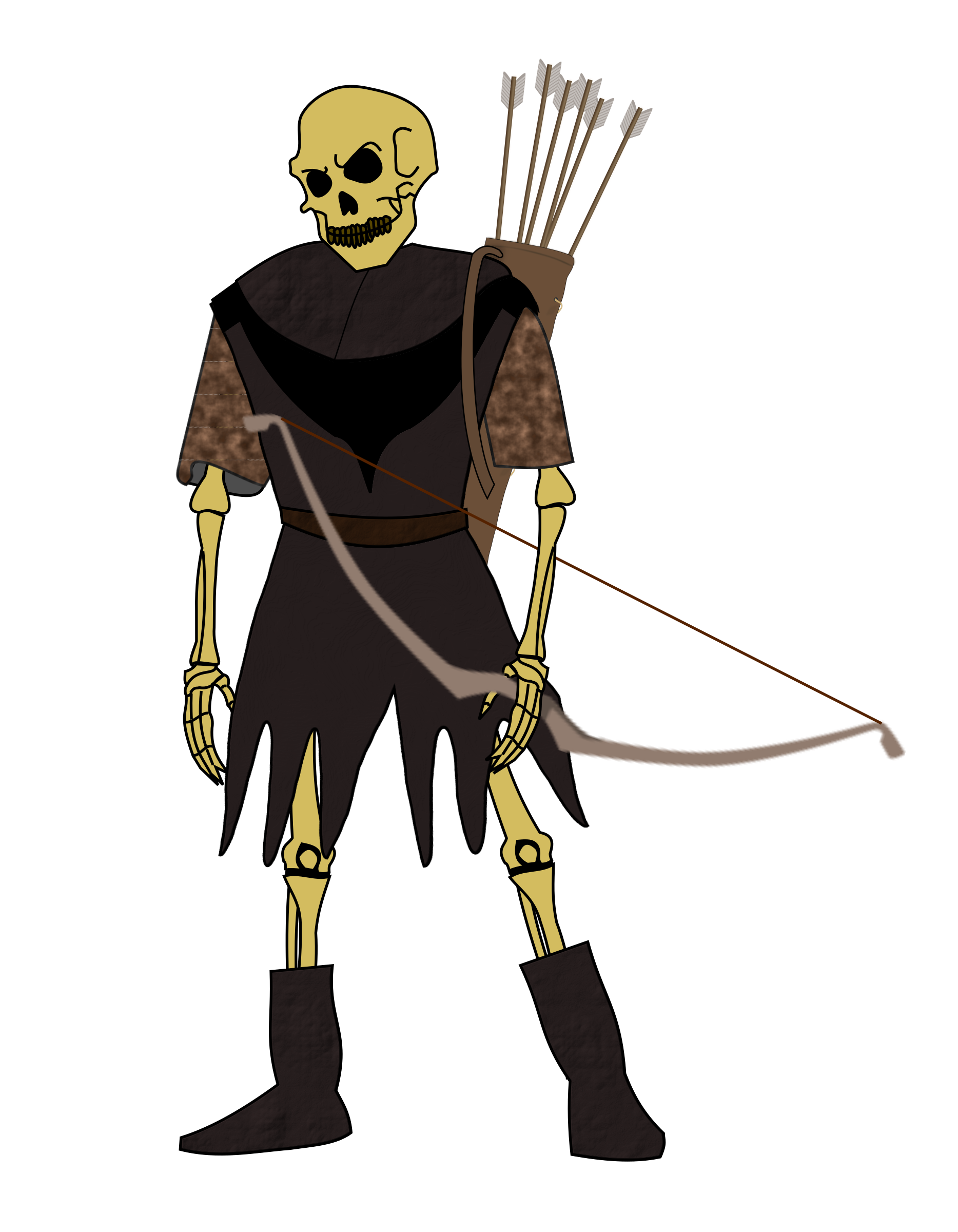 Undead Archer by Flying Dutchman