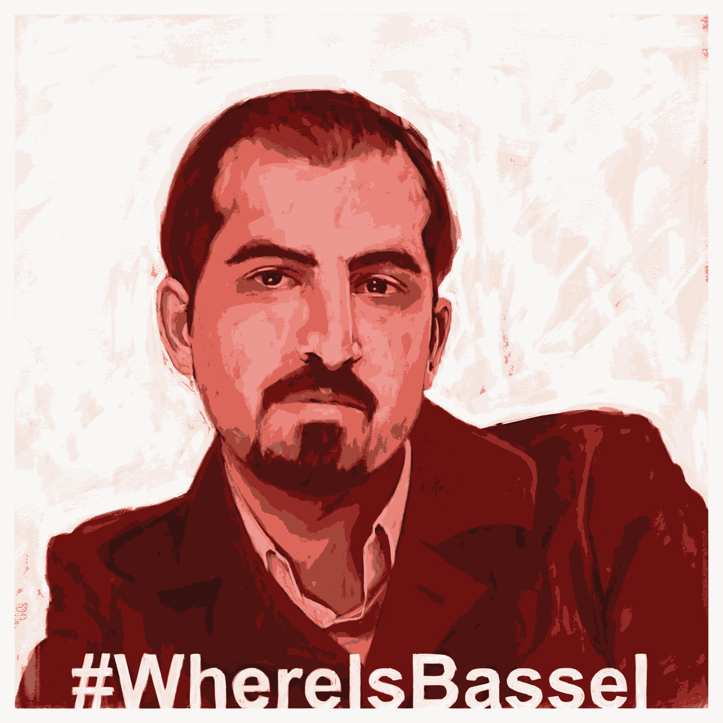 WhereIsBassel Painting (12 colors) by Anonymous