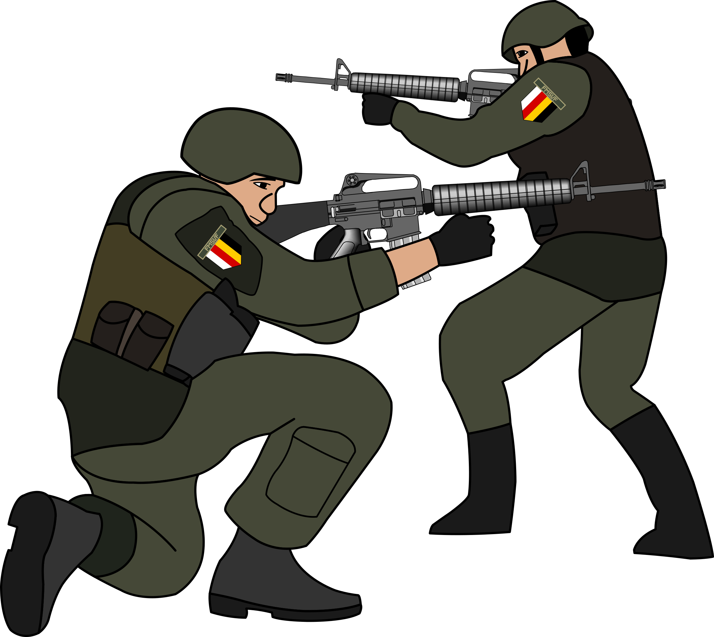 clipart soldiers in battle rh openclipart org soldier clipart silhouette soldier clip art images
