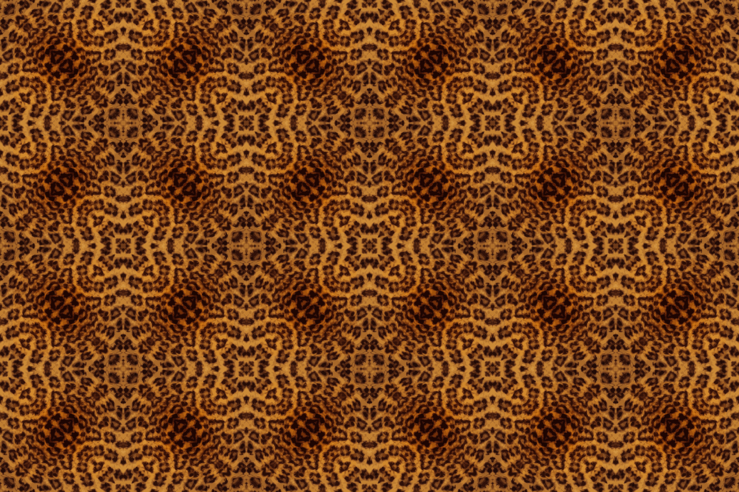Leopard fur pattern by Firkin