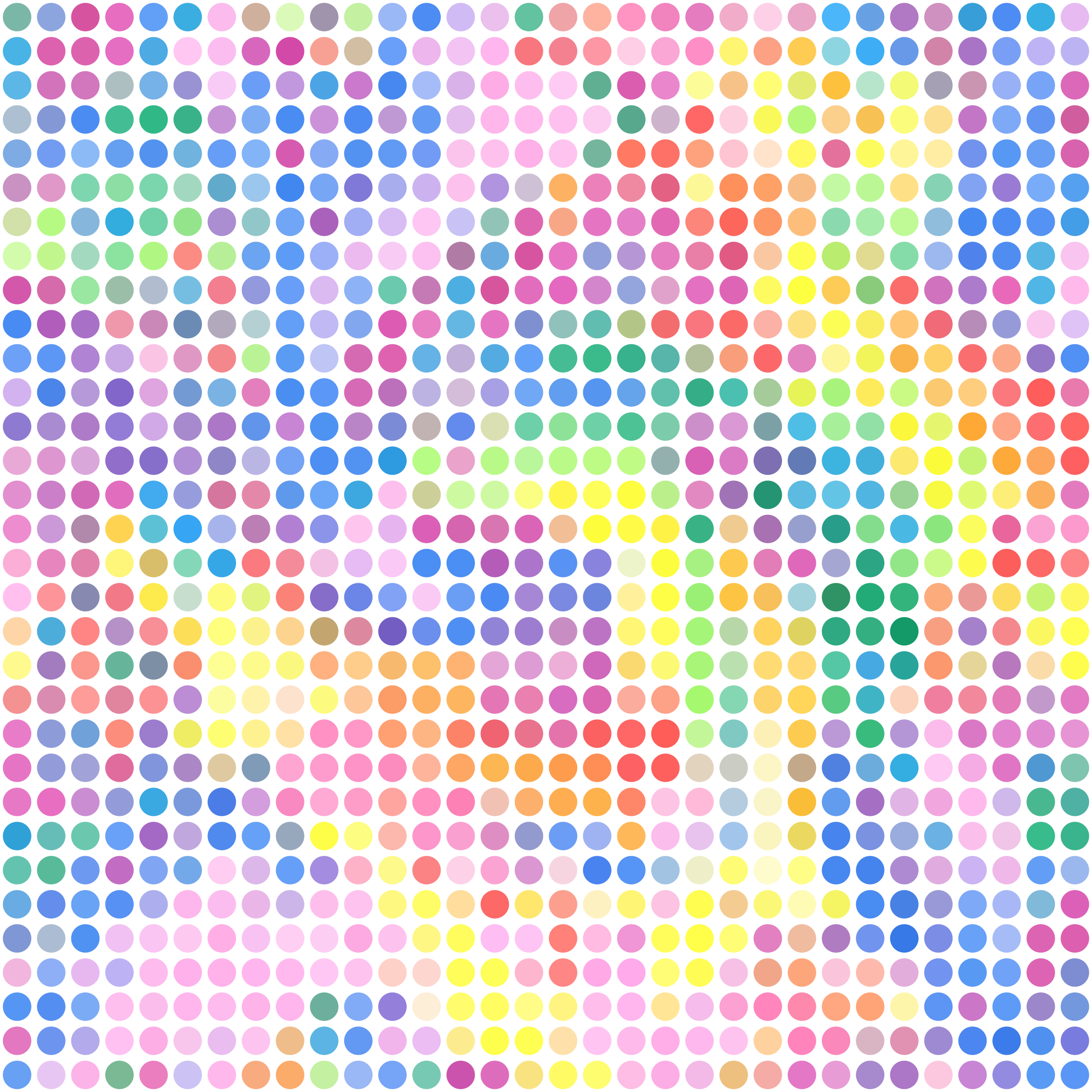 Psychedelic Dots by Arvin61r58