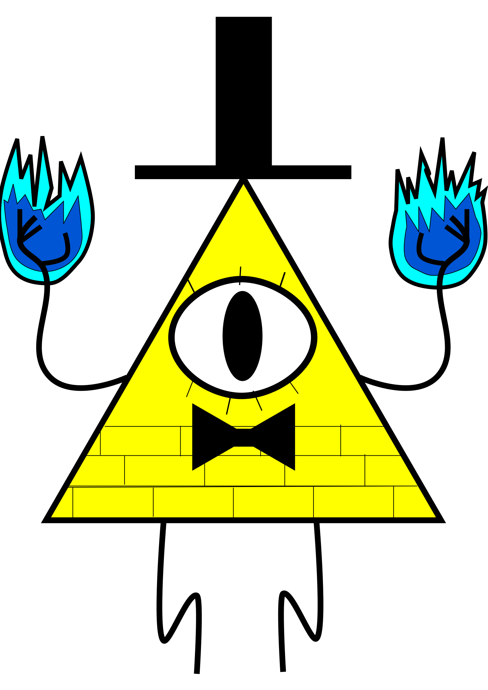 Bill Cipher by Blackhammers