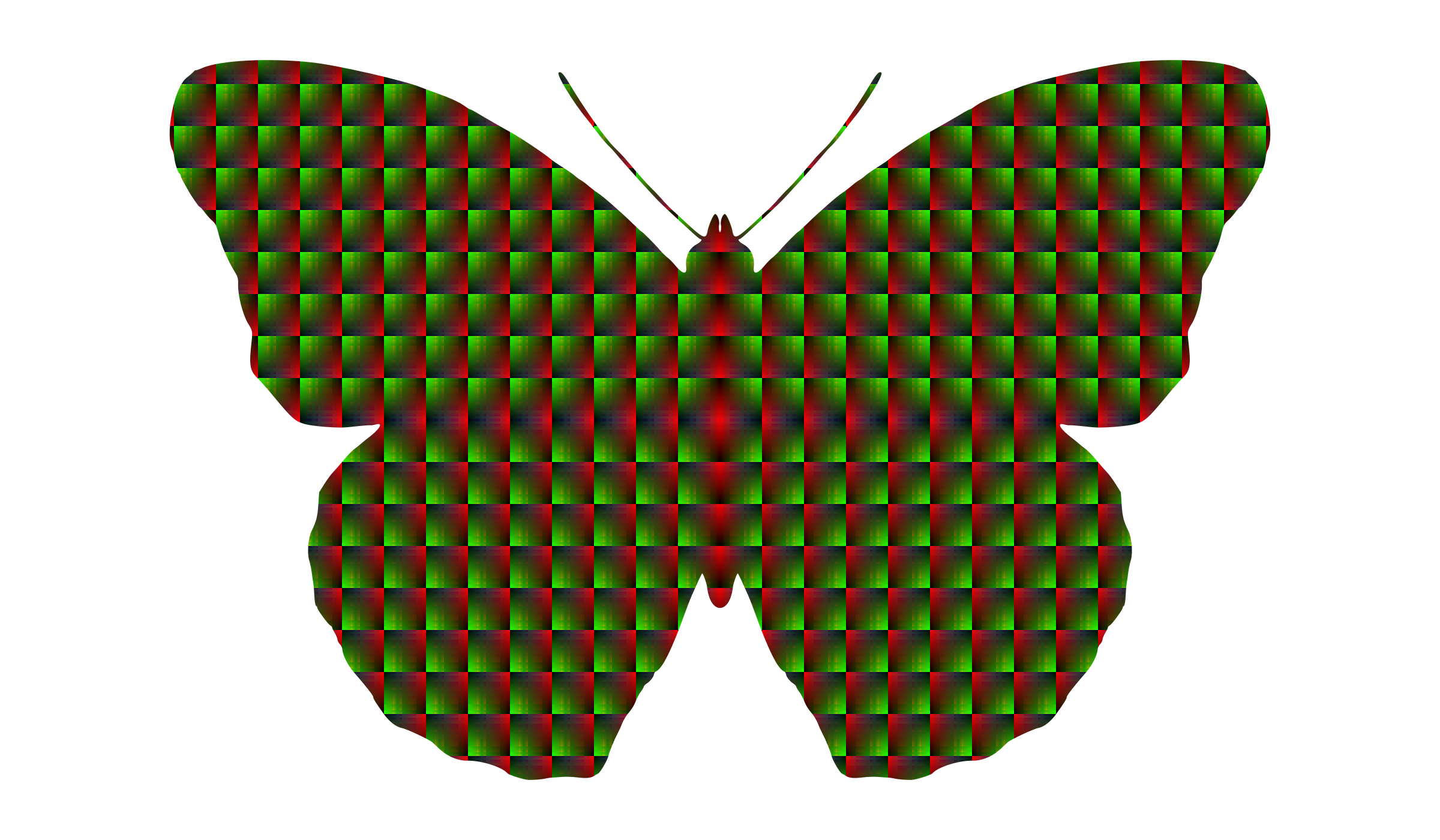 patterned butterfly  by Lazur URH