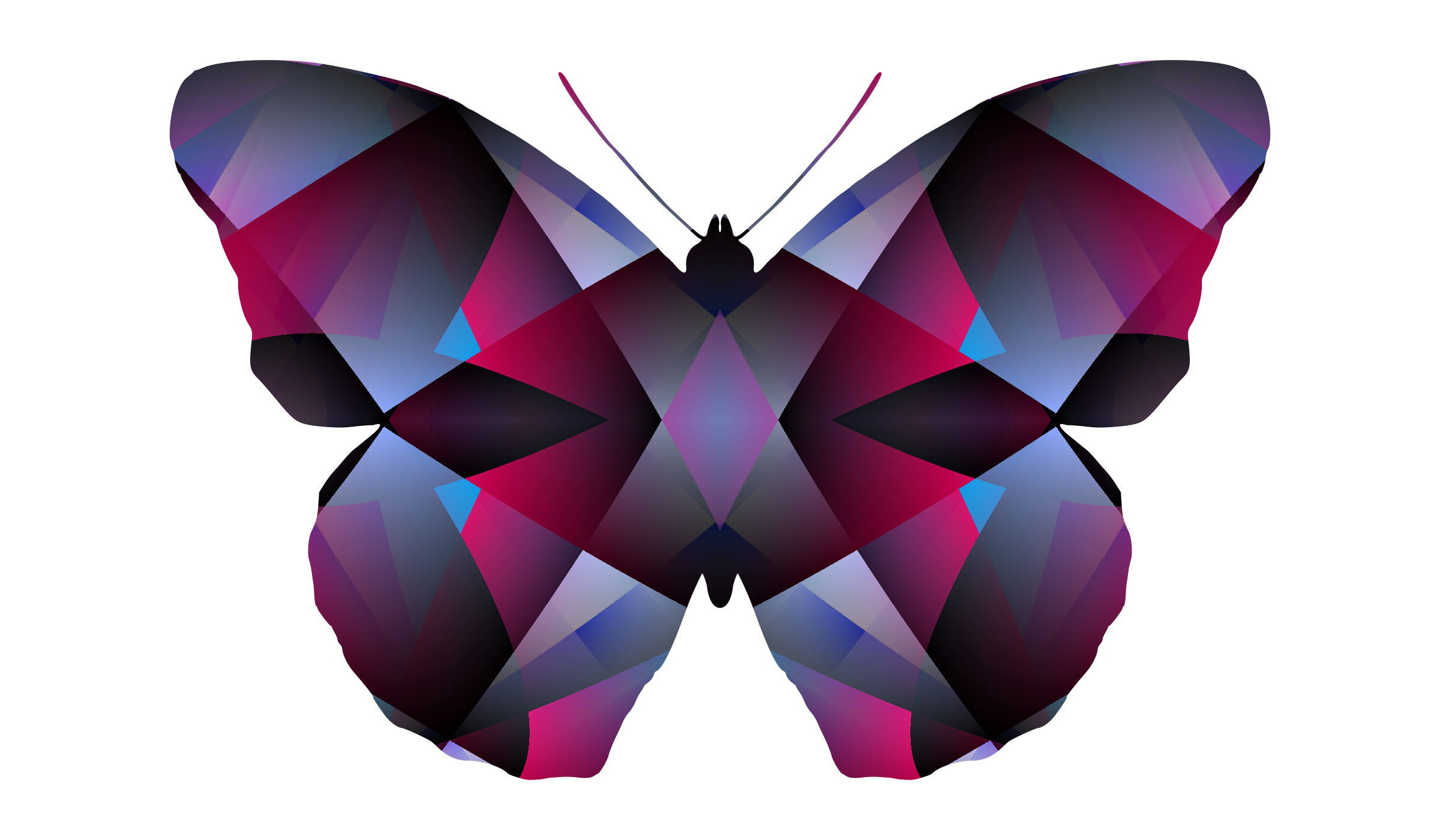patterned butterfly 2 by Lazur URH