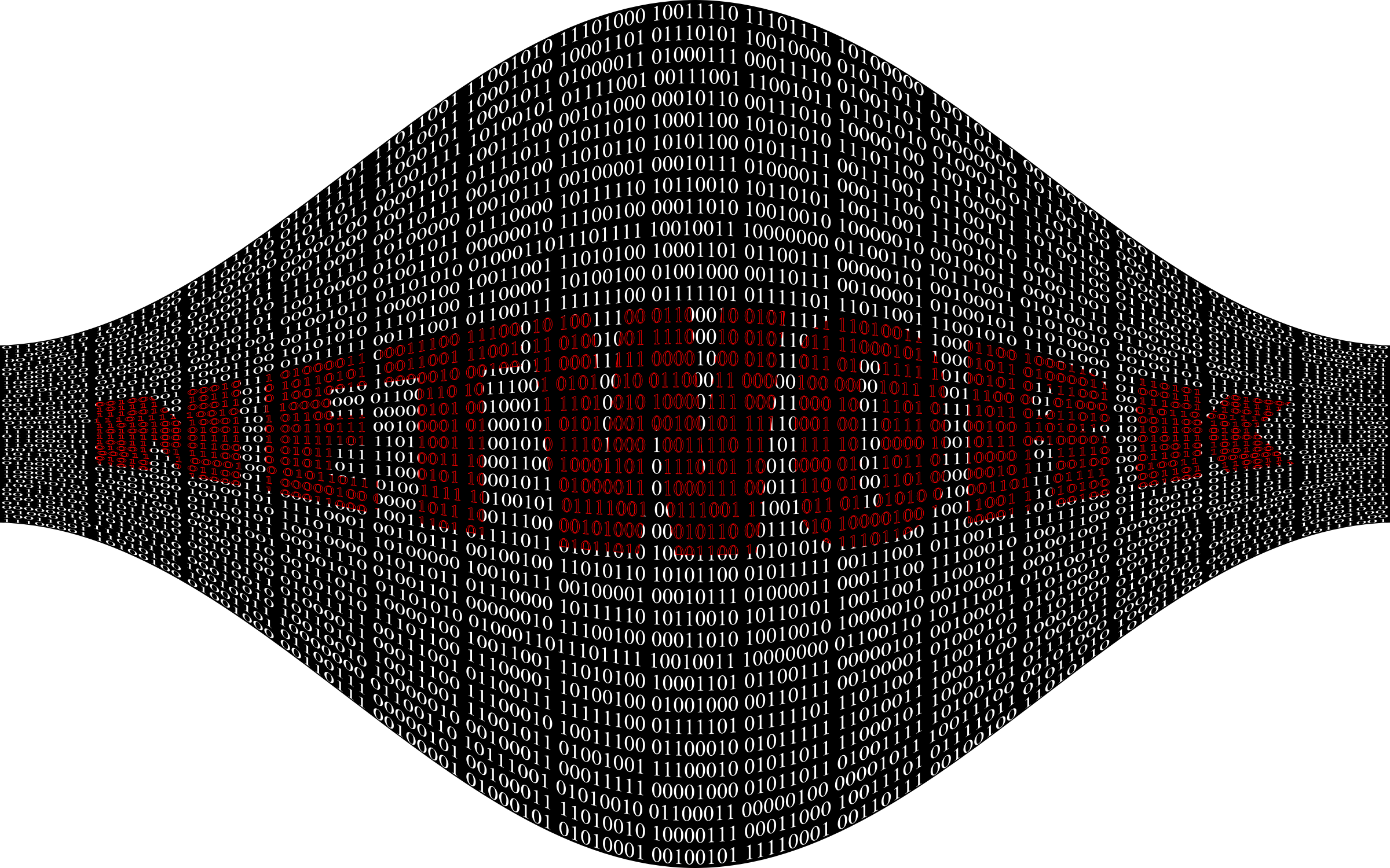 Binary Network 3 by GDJ
