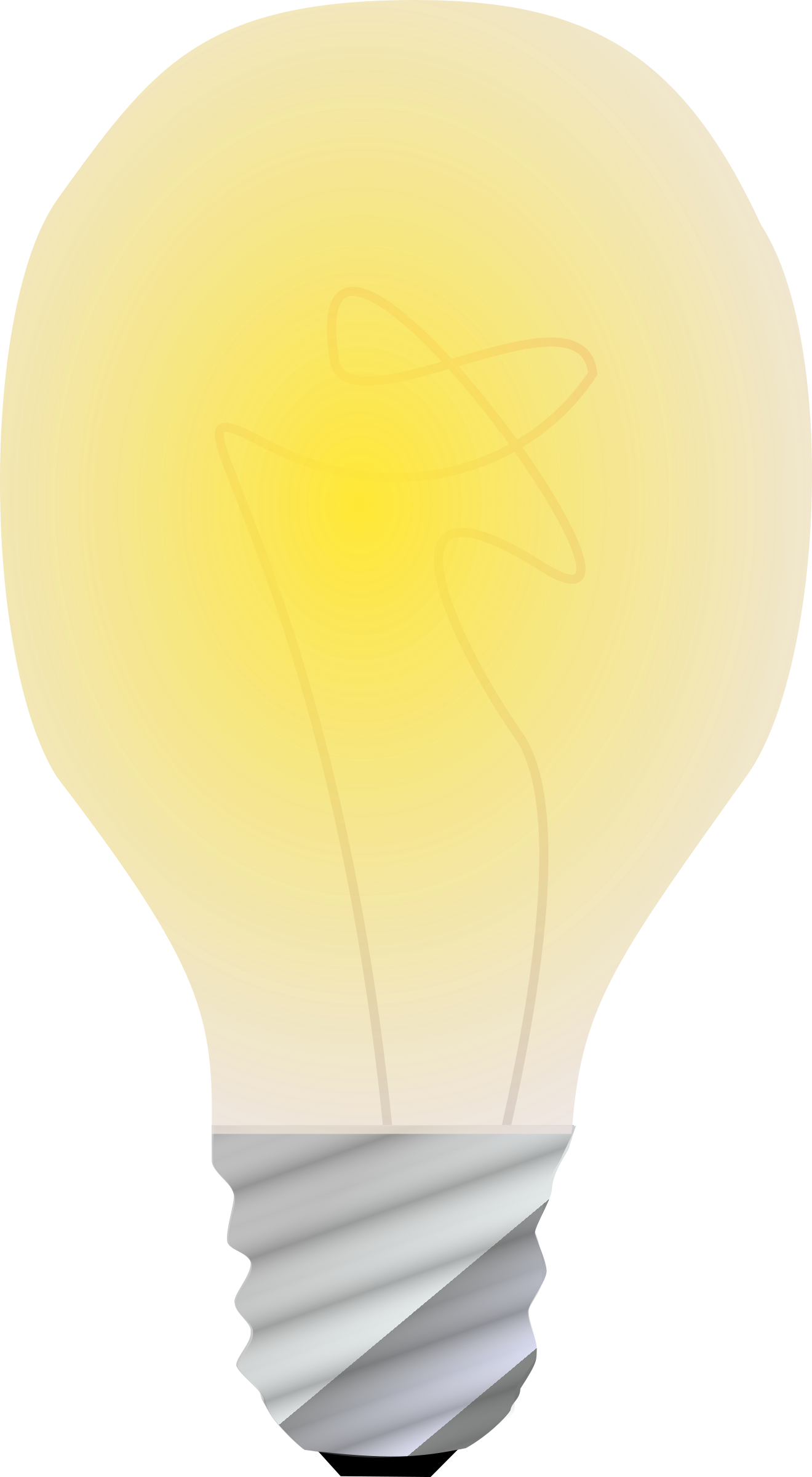 lightbulb on by Anonymous