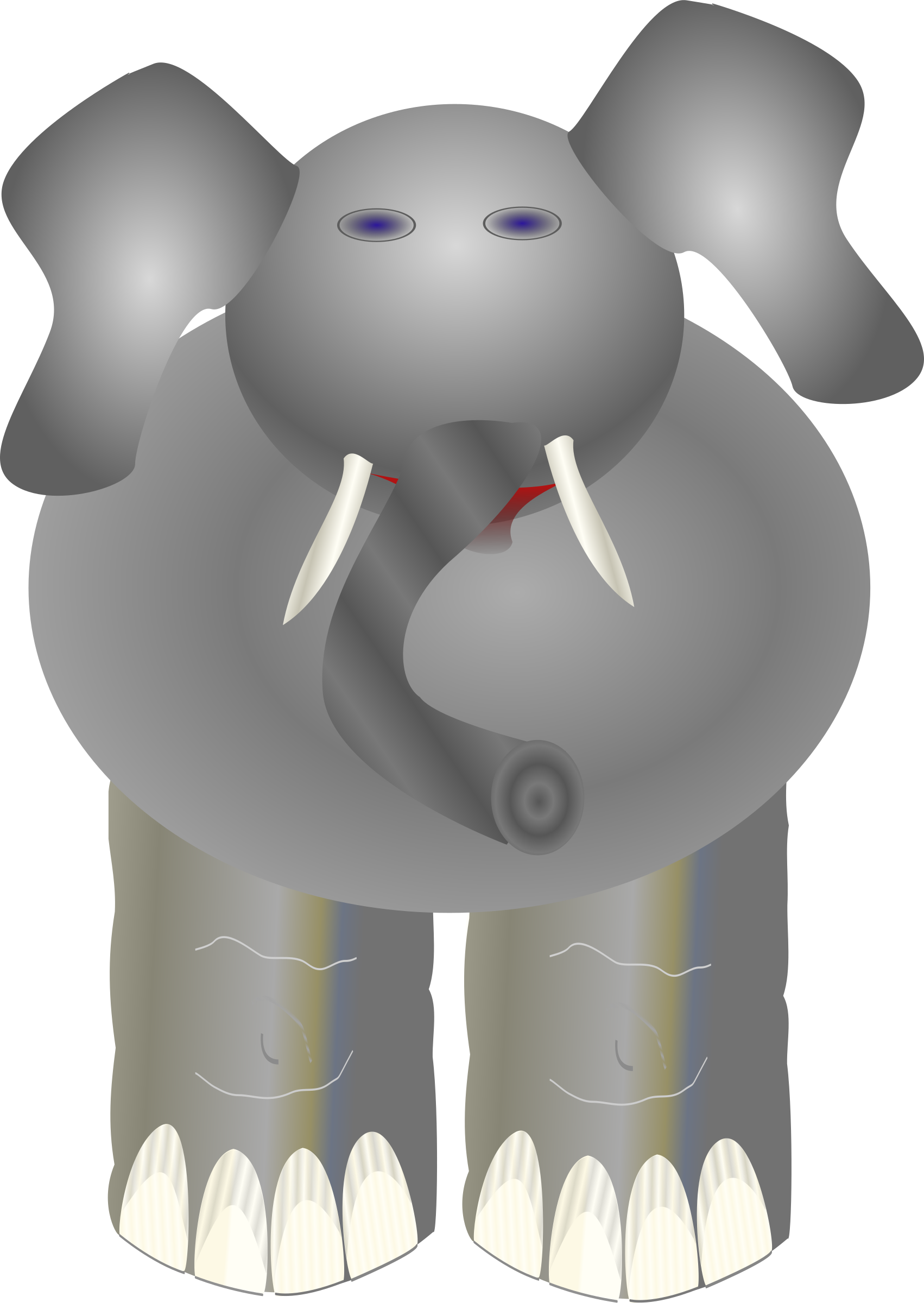 ploppy the elephant by Anonymous