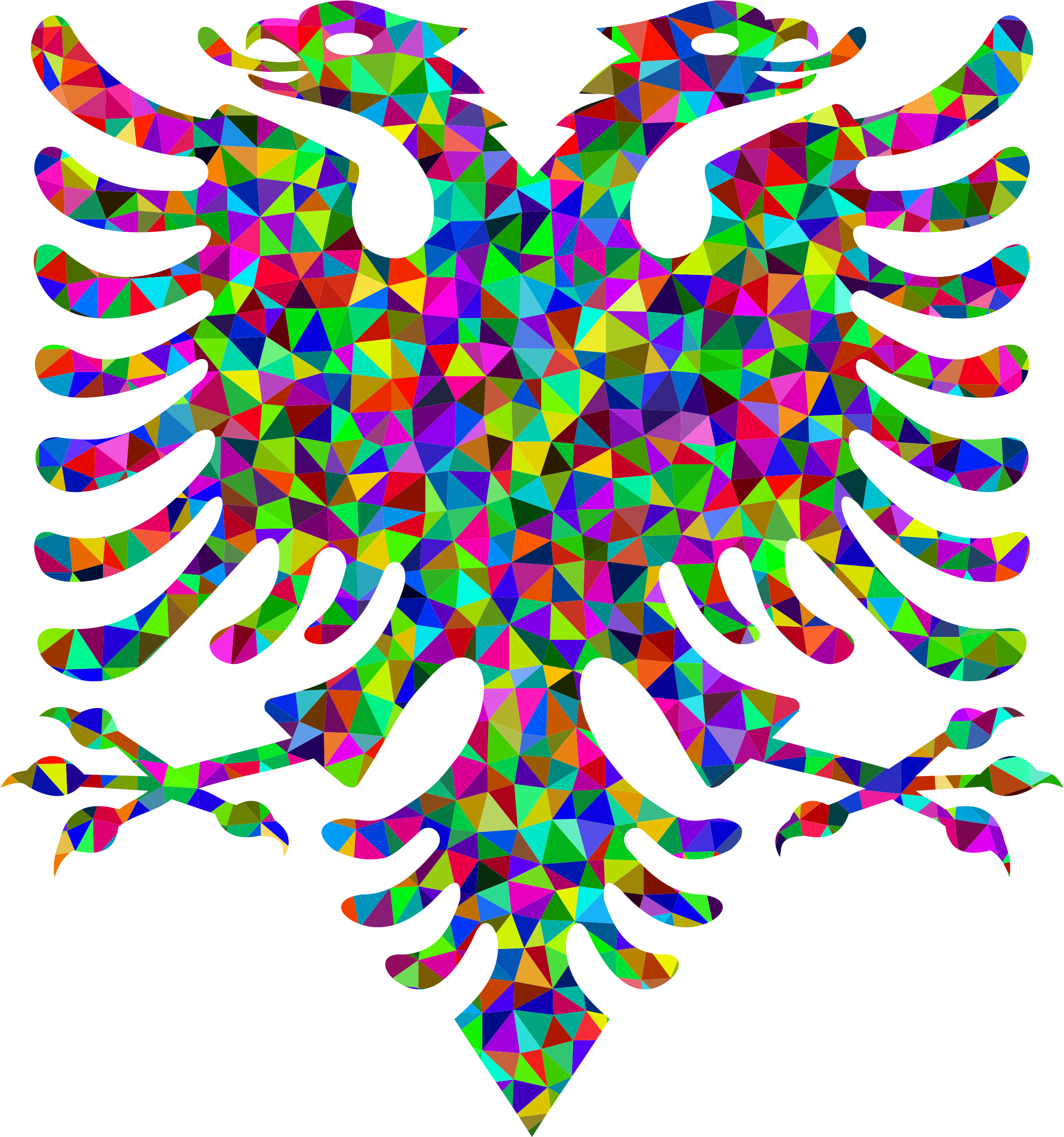 Low Poly Prismatic Double Headed Eagle by GDJ
