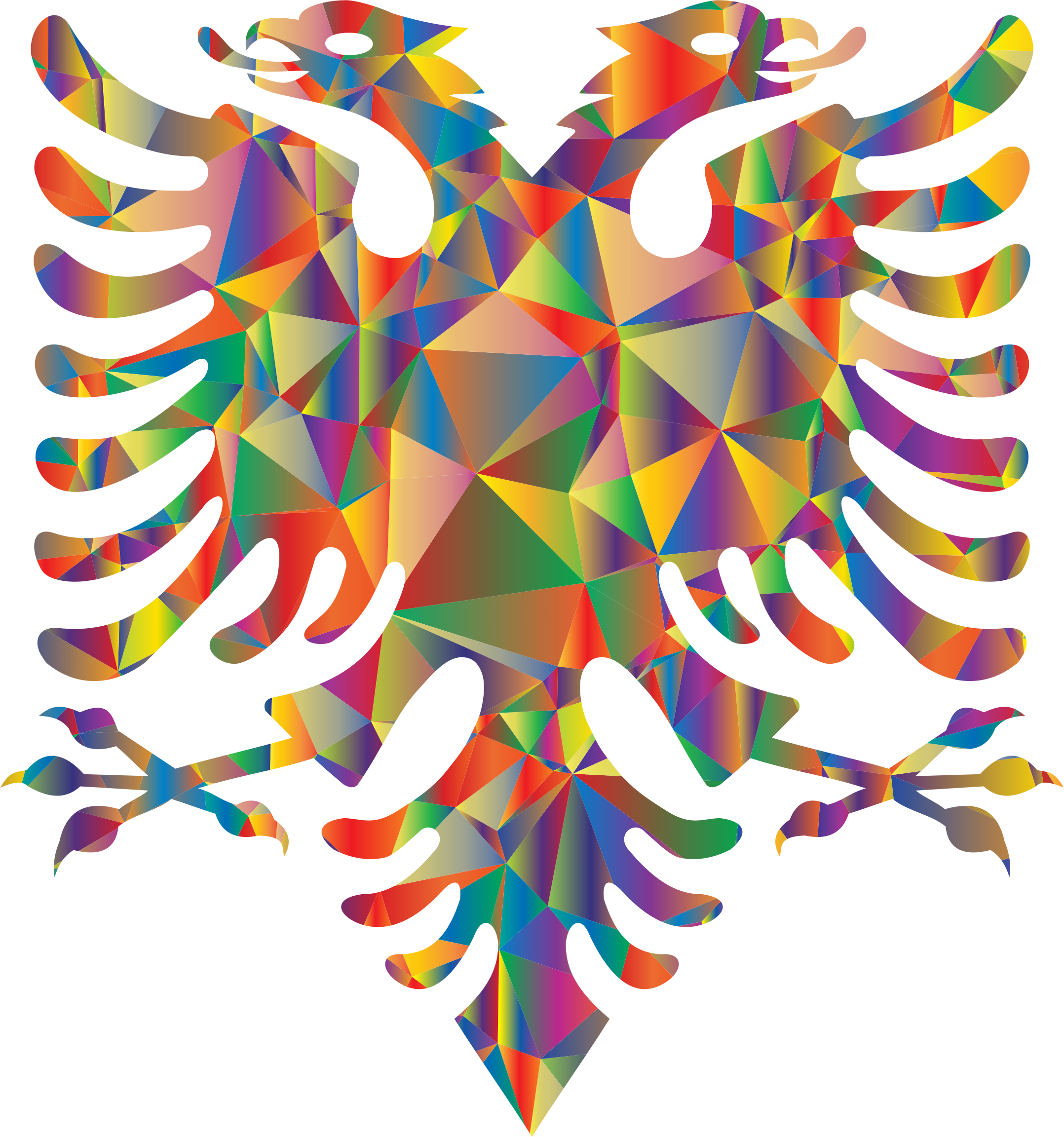 Polyprismatic Low Poly Double Headed Eagle by GDJ