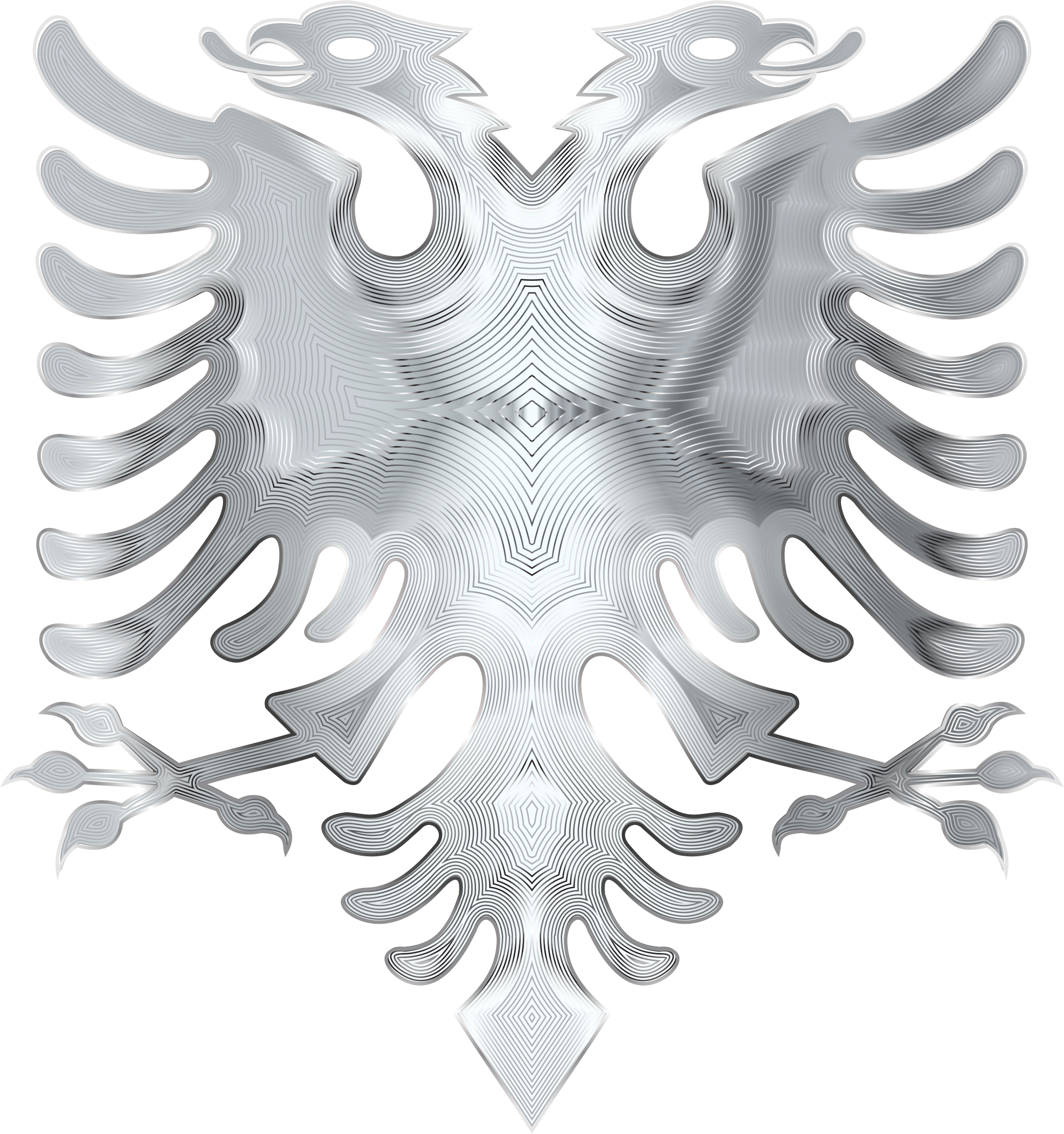 Silver Double Headed Eagle by GDJ