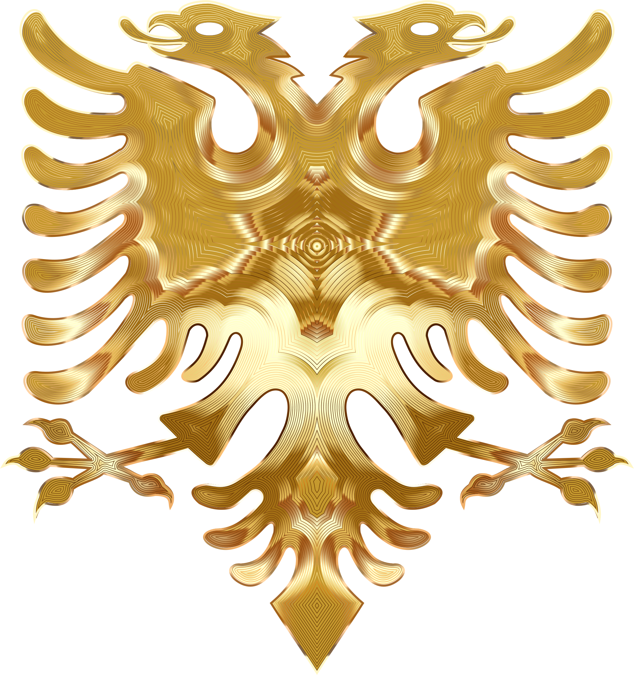 Golden Double Headed Eagle by GDJ