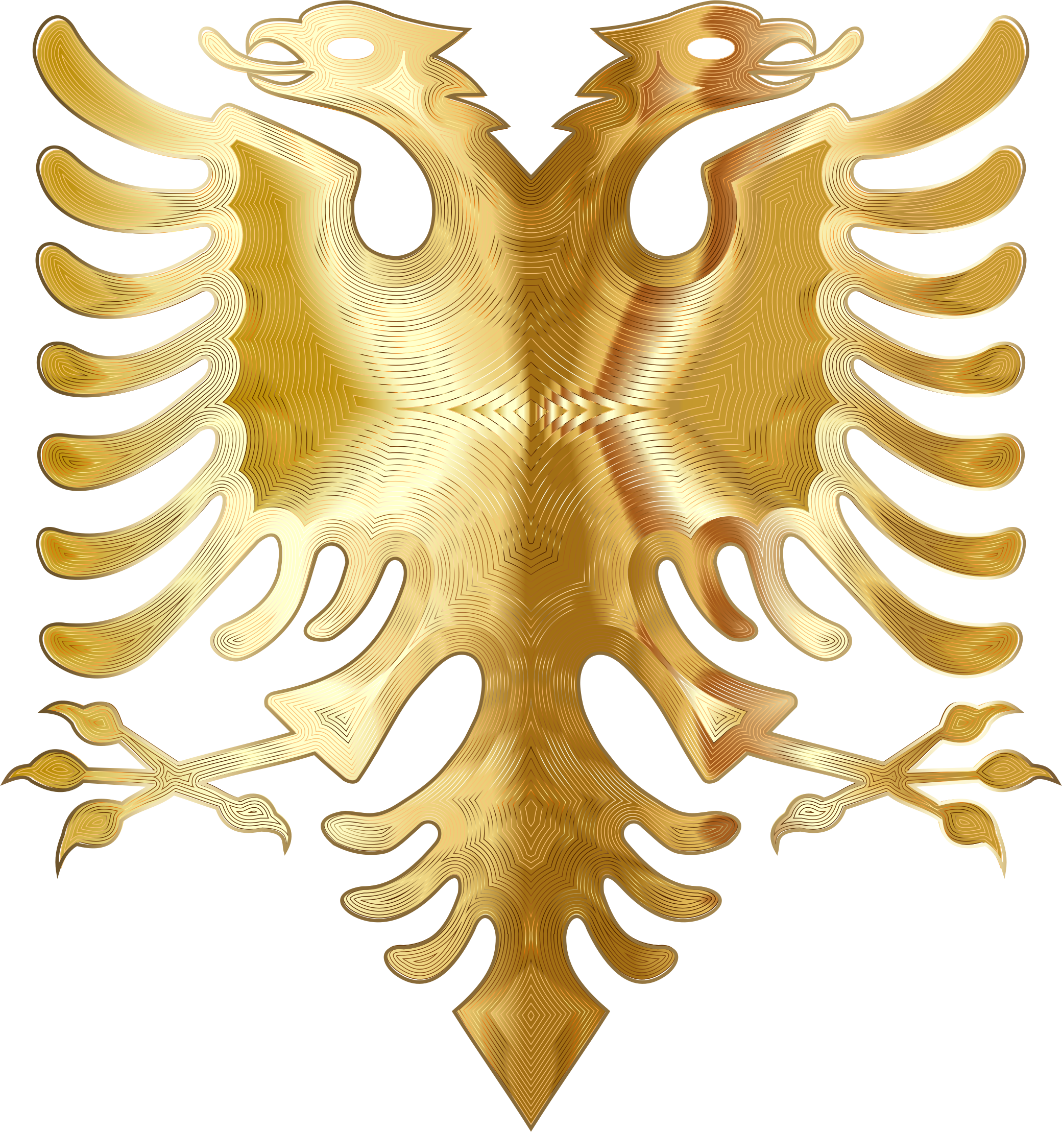 Golden Double Headed Eagle 2 by GDJ