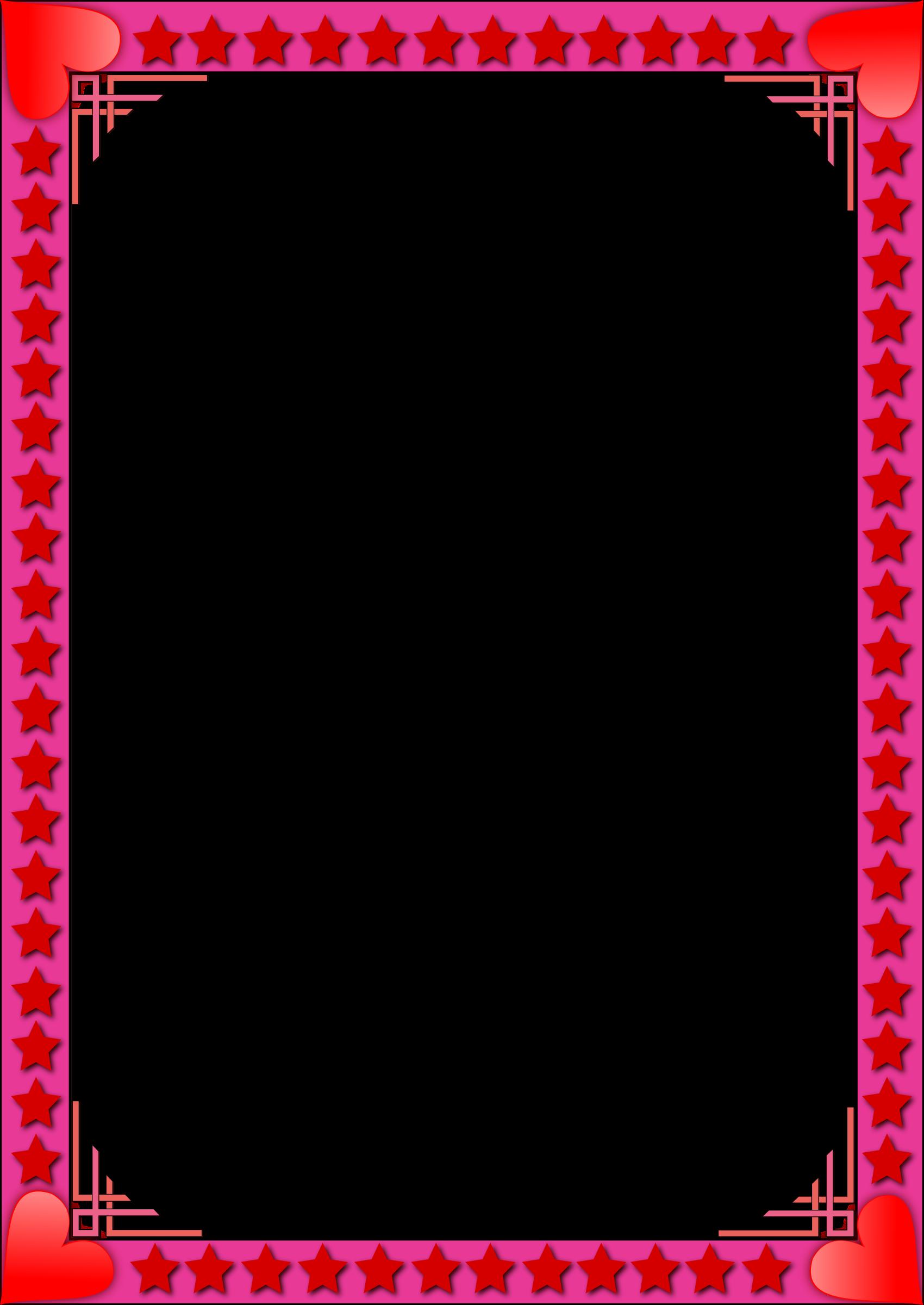Clipart - Valentine frame