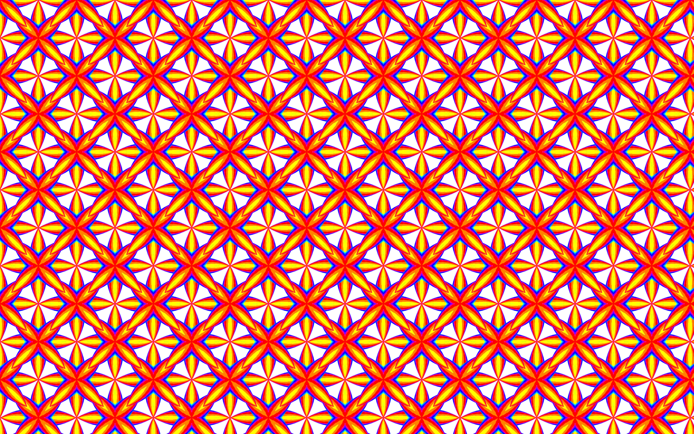 Seamless Groovy Geometry Pattern 4 by GDJ
