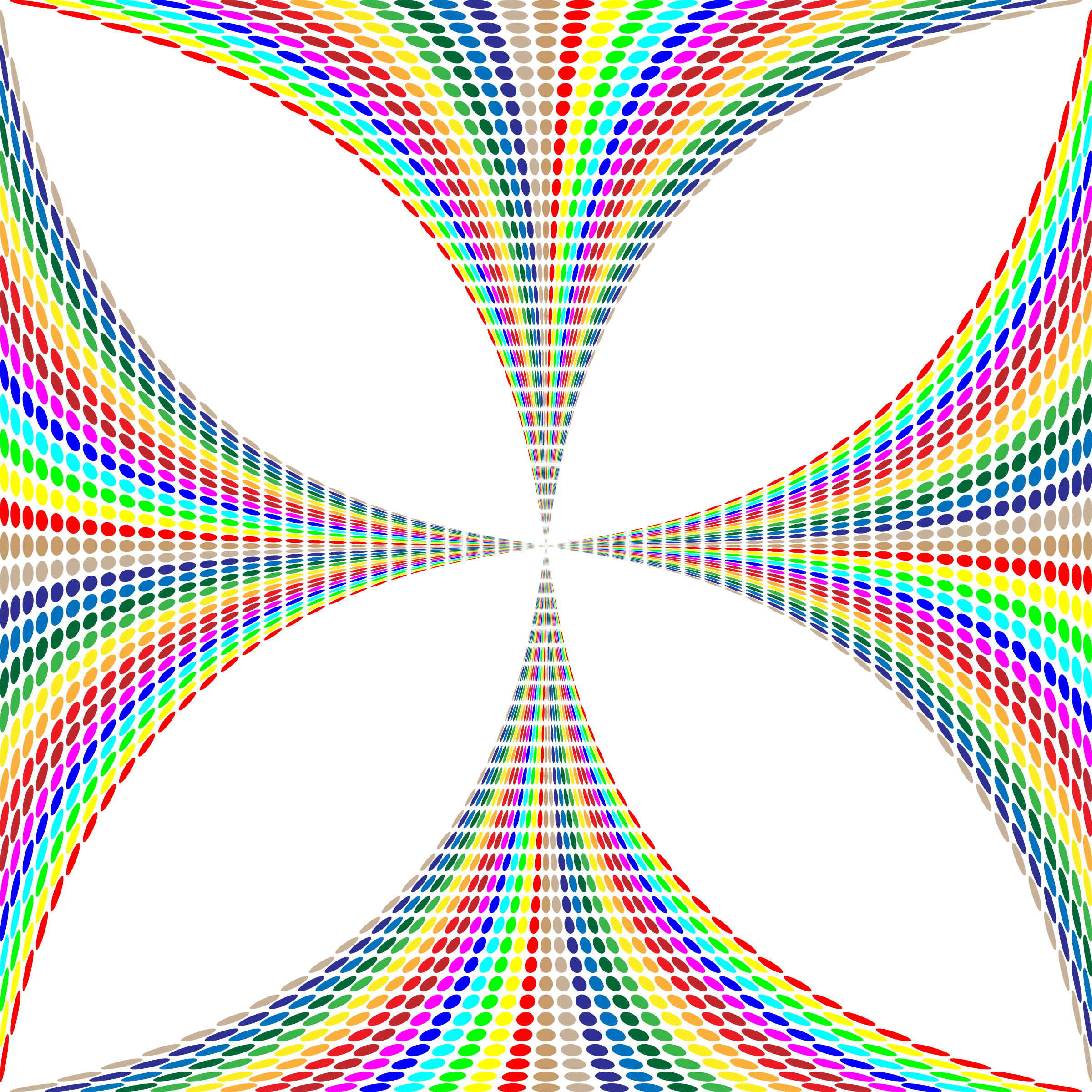 Prismatic Circles Maltese Cross by GDJ