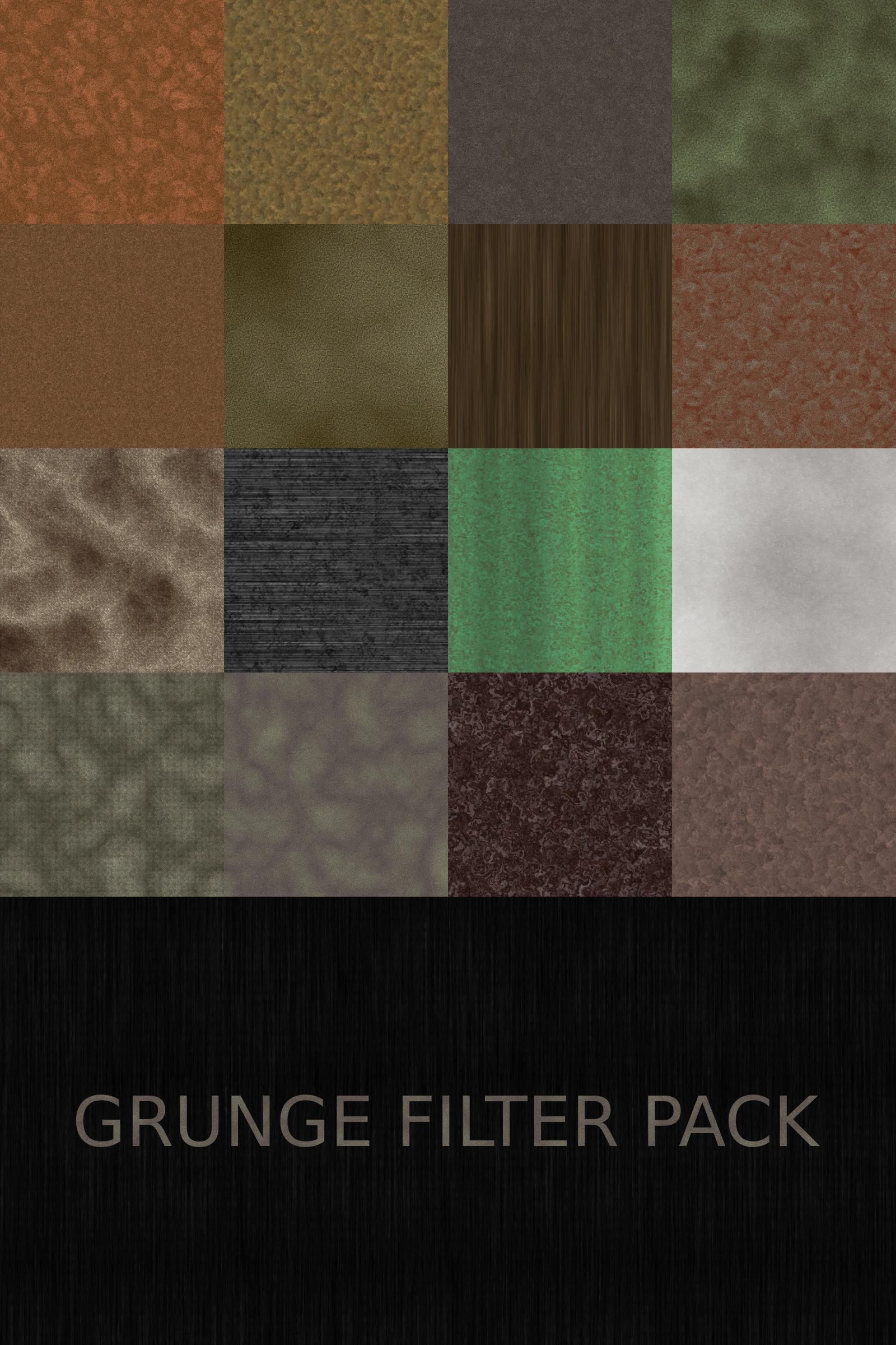 grunge filter pack by Lazur URH