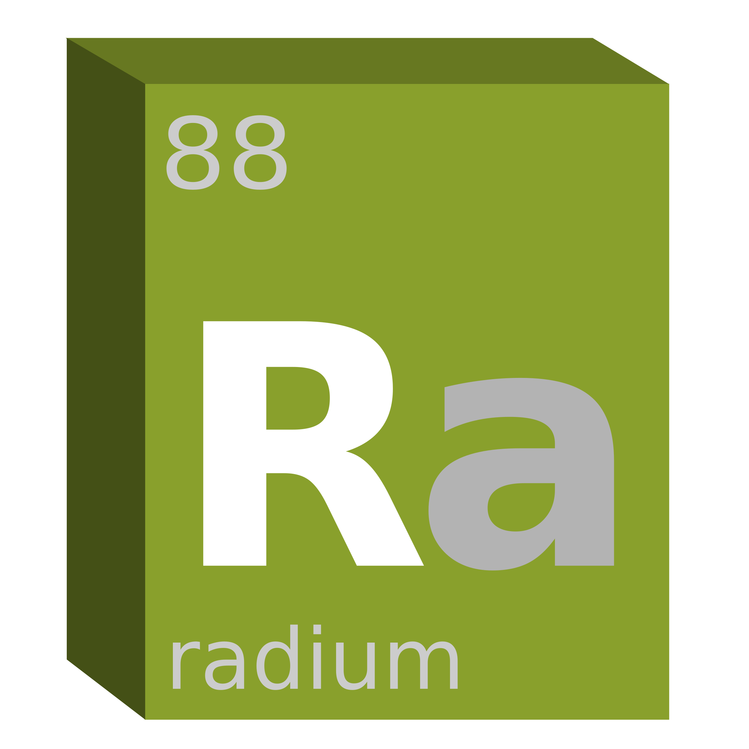 Radium (Ra) Block- Chemistry by oldifluff