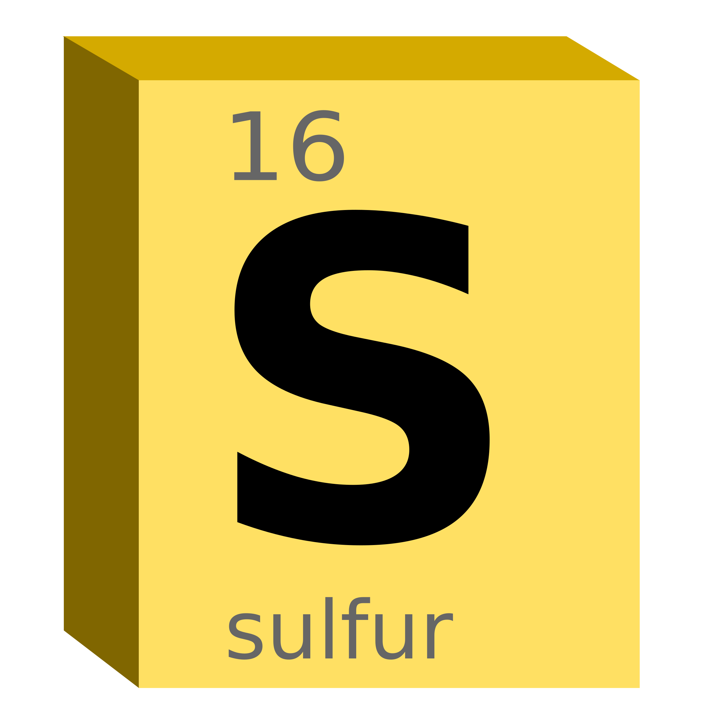 Clipart sulfur s block chemistry sulfur s block chemistry buycottarizona Image collections