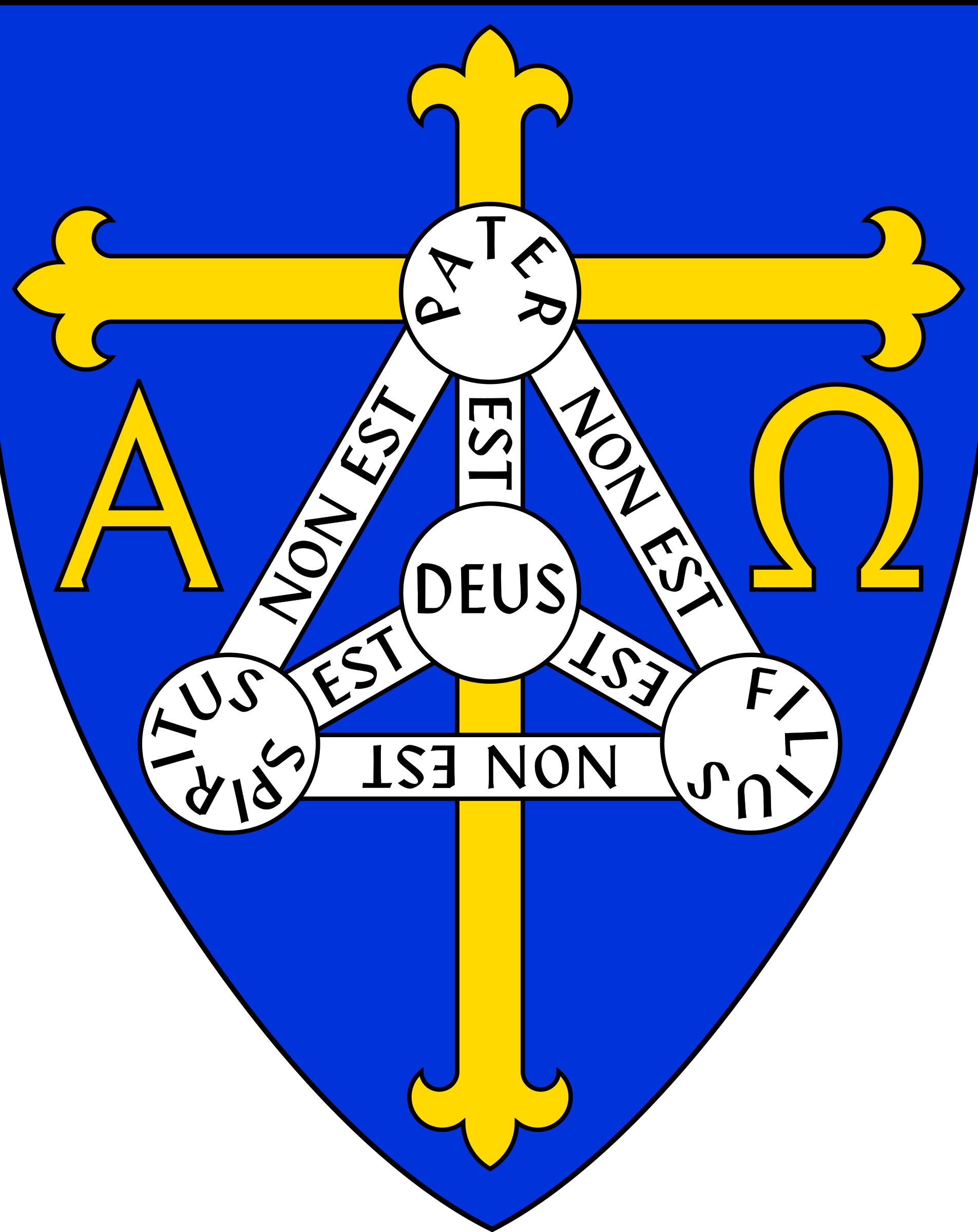 Coat of Arms of Anglican Diocese of Trinidad by Anonymous