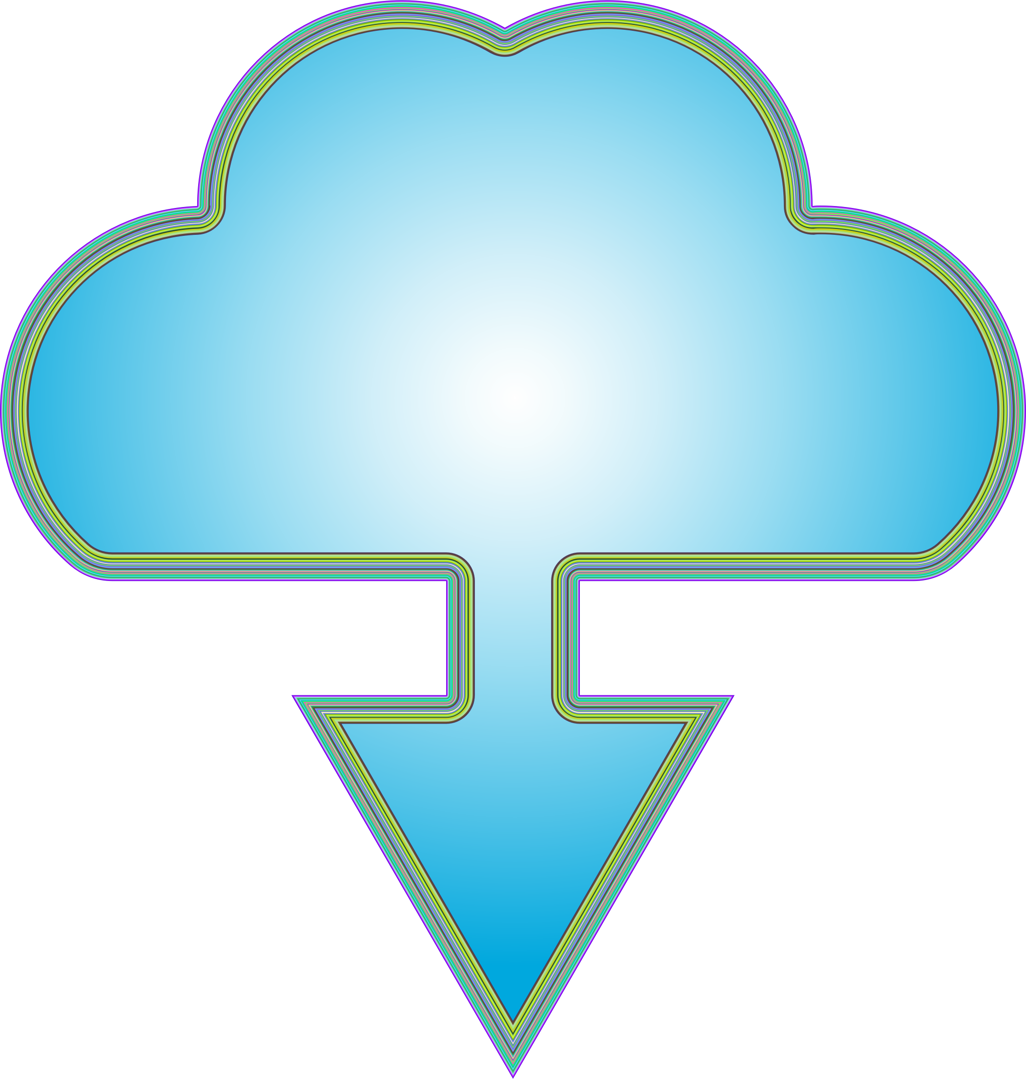 Download Cloud Icon 2 by GDJ