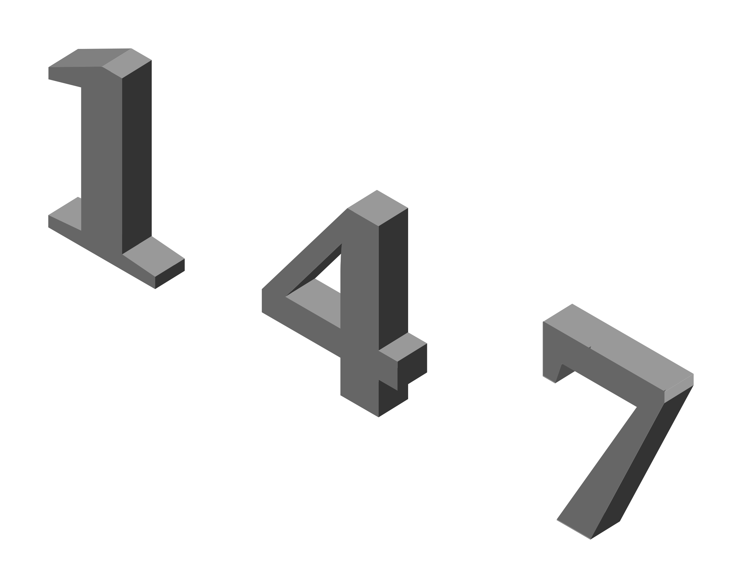 Isometric numbers by aztlek