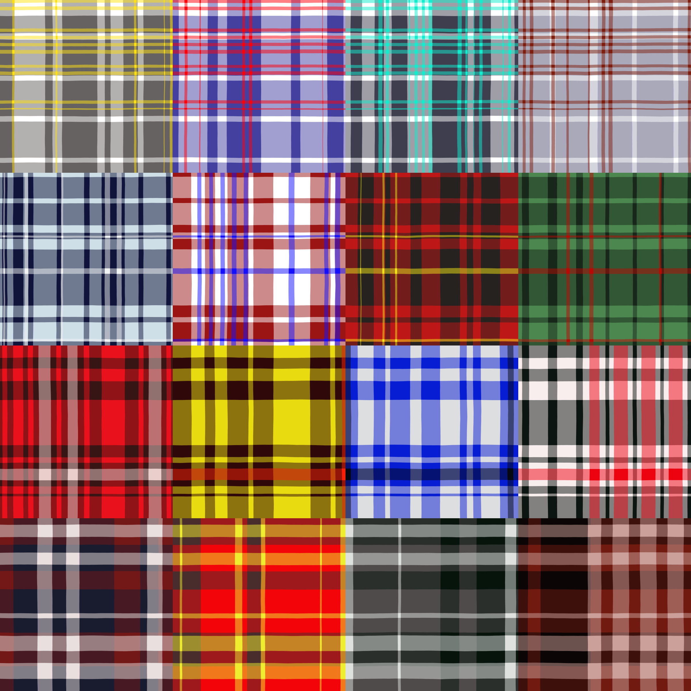 Image Gallery Plaid