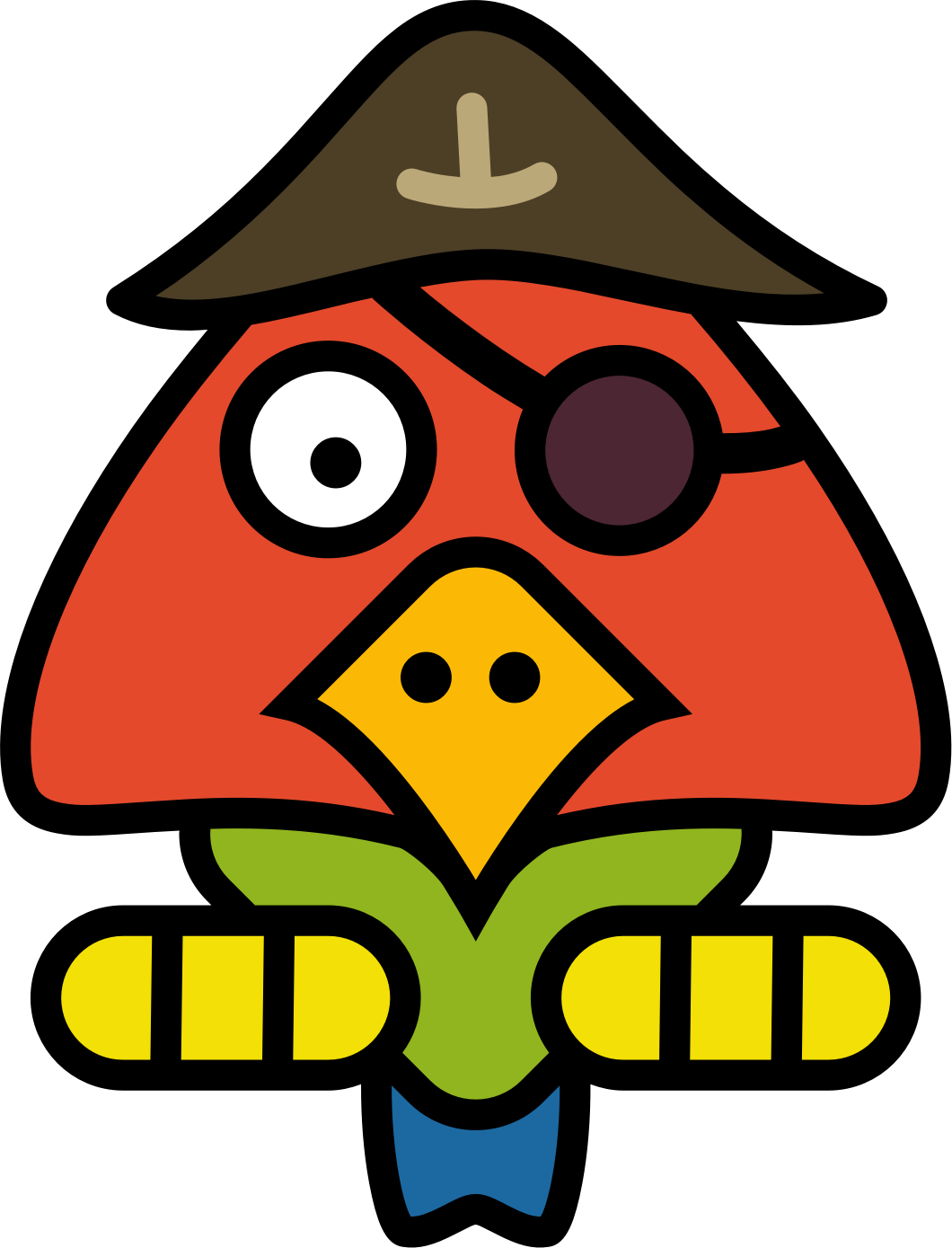 Pirate Parrot by Klàro