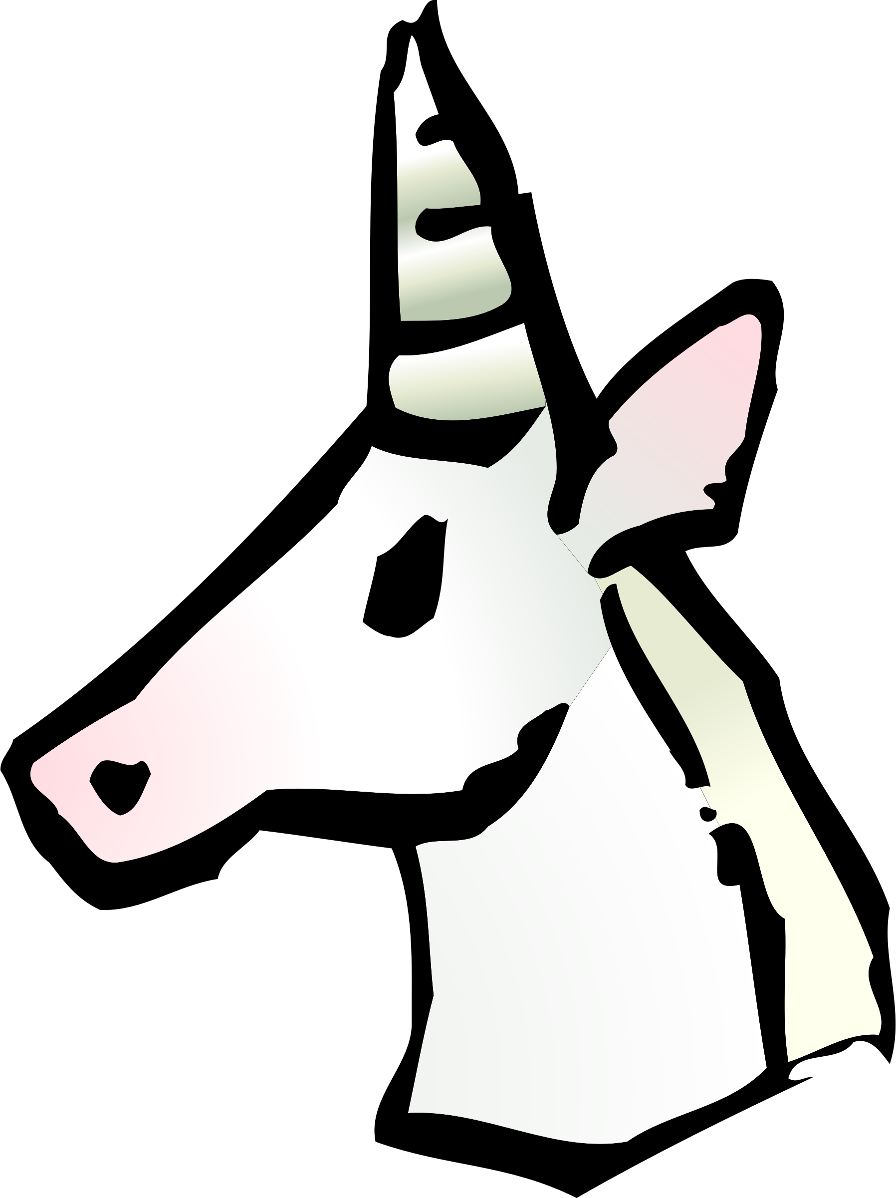 Clipart Unicorn Icon
