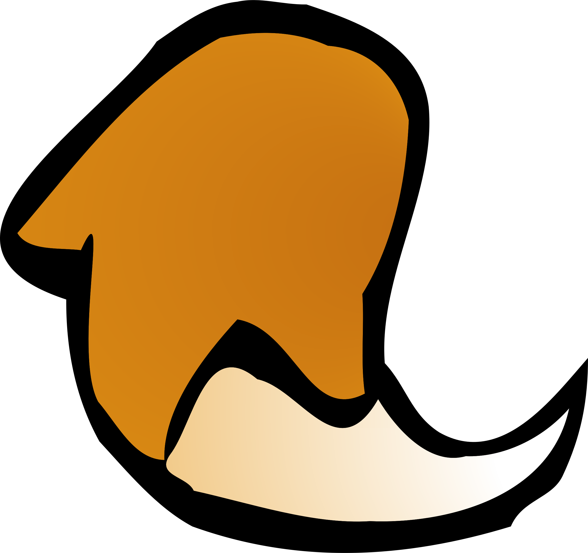 fox tail icon by Klàro