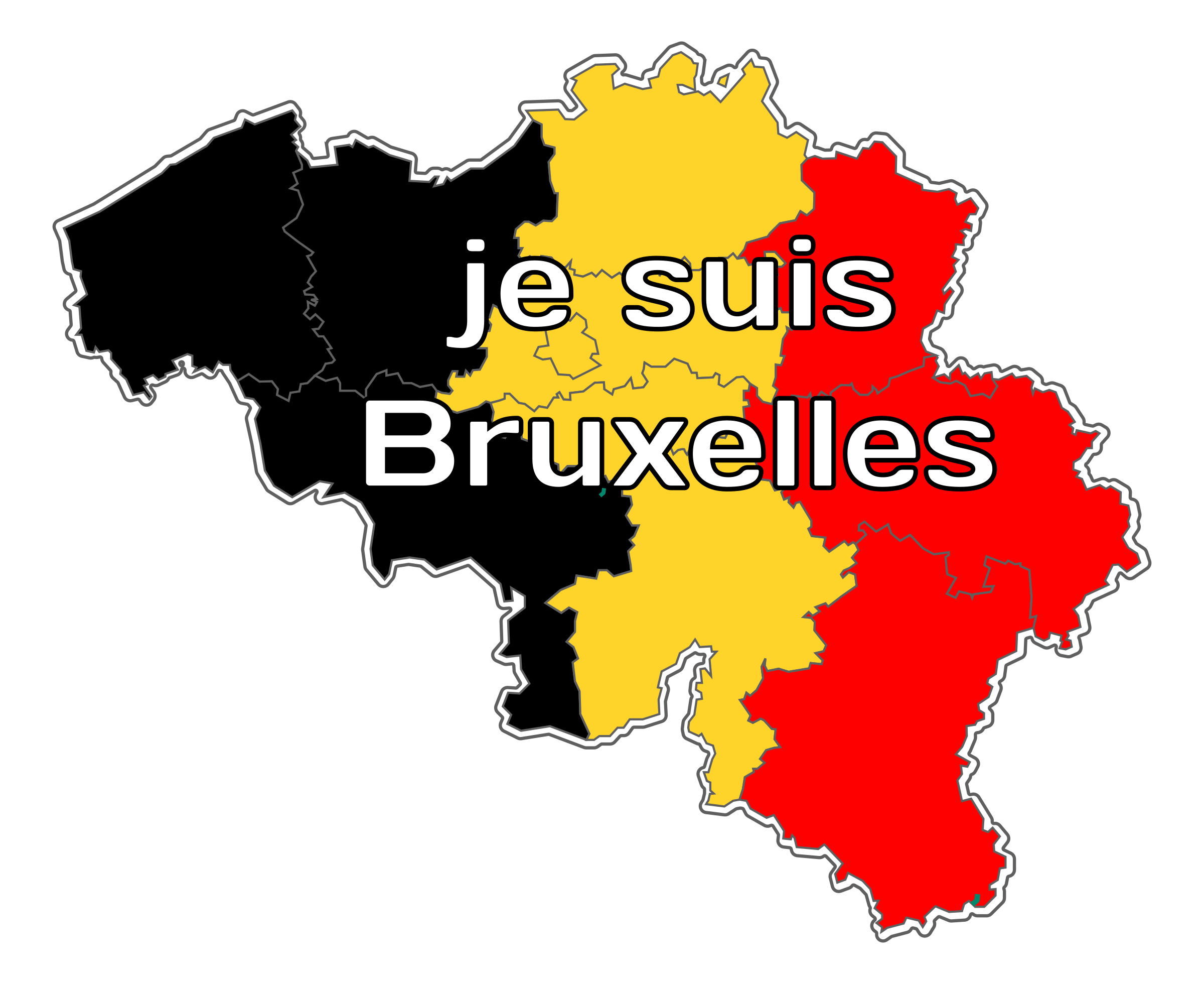Je suis Bruxelles / I am Brussels by PeterM