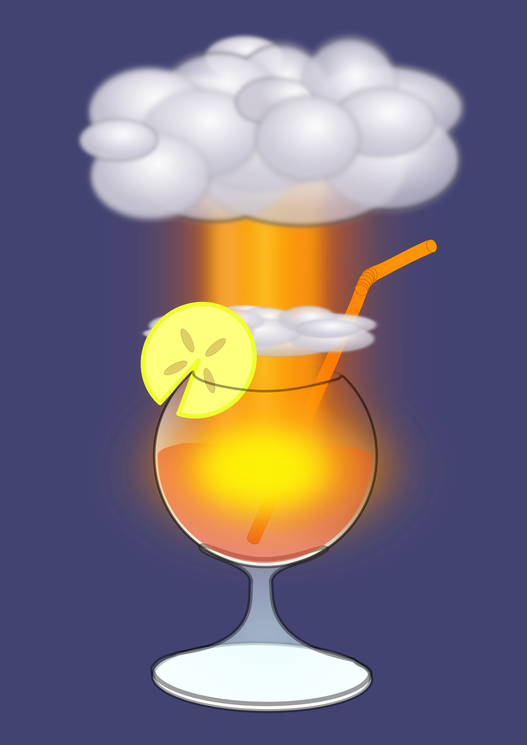Radioactive cocktail by Juhele